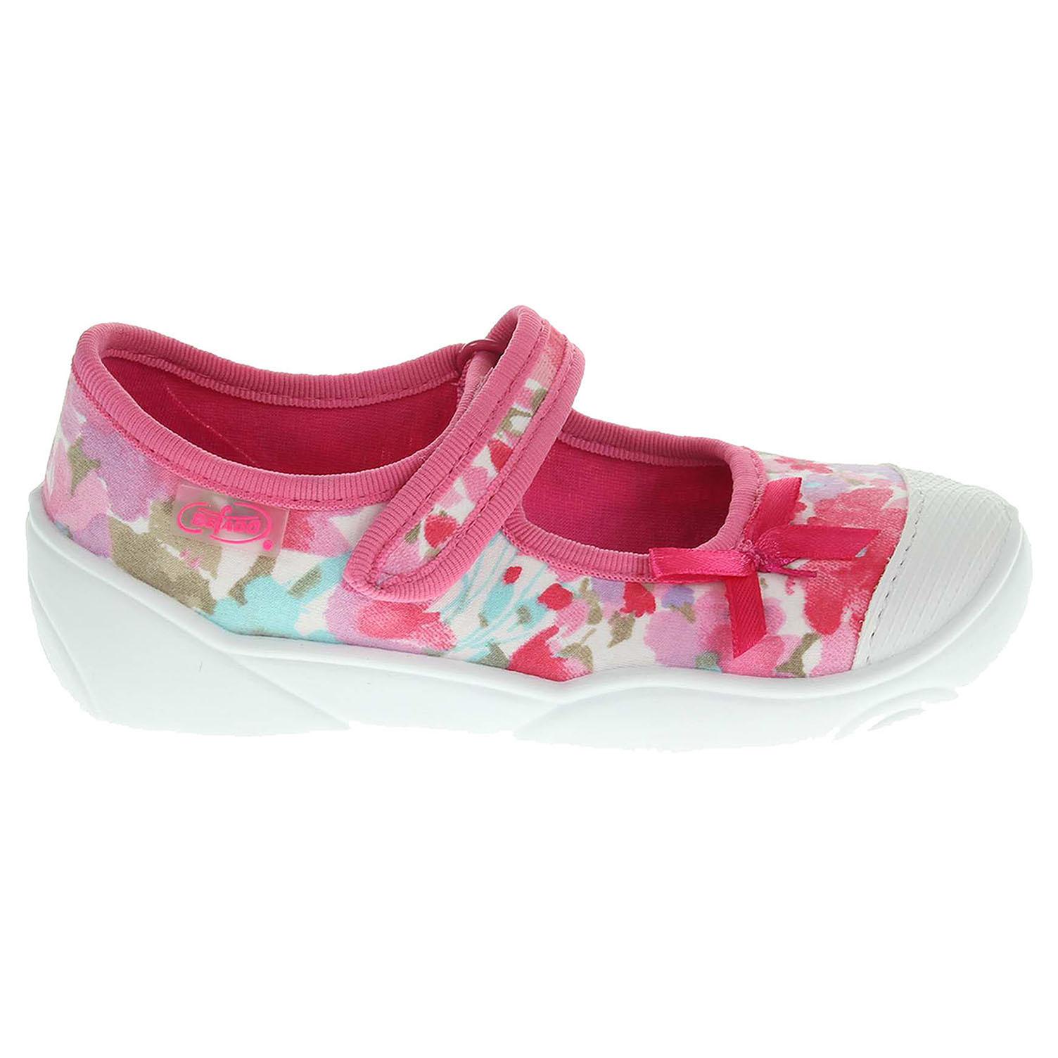 Ecco Befado dívčí baleriny 209P020 růžové 26300052