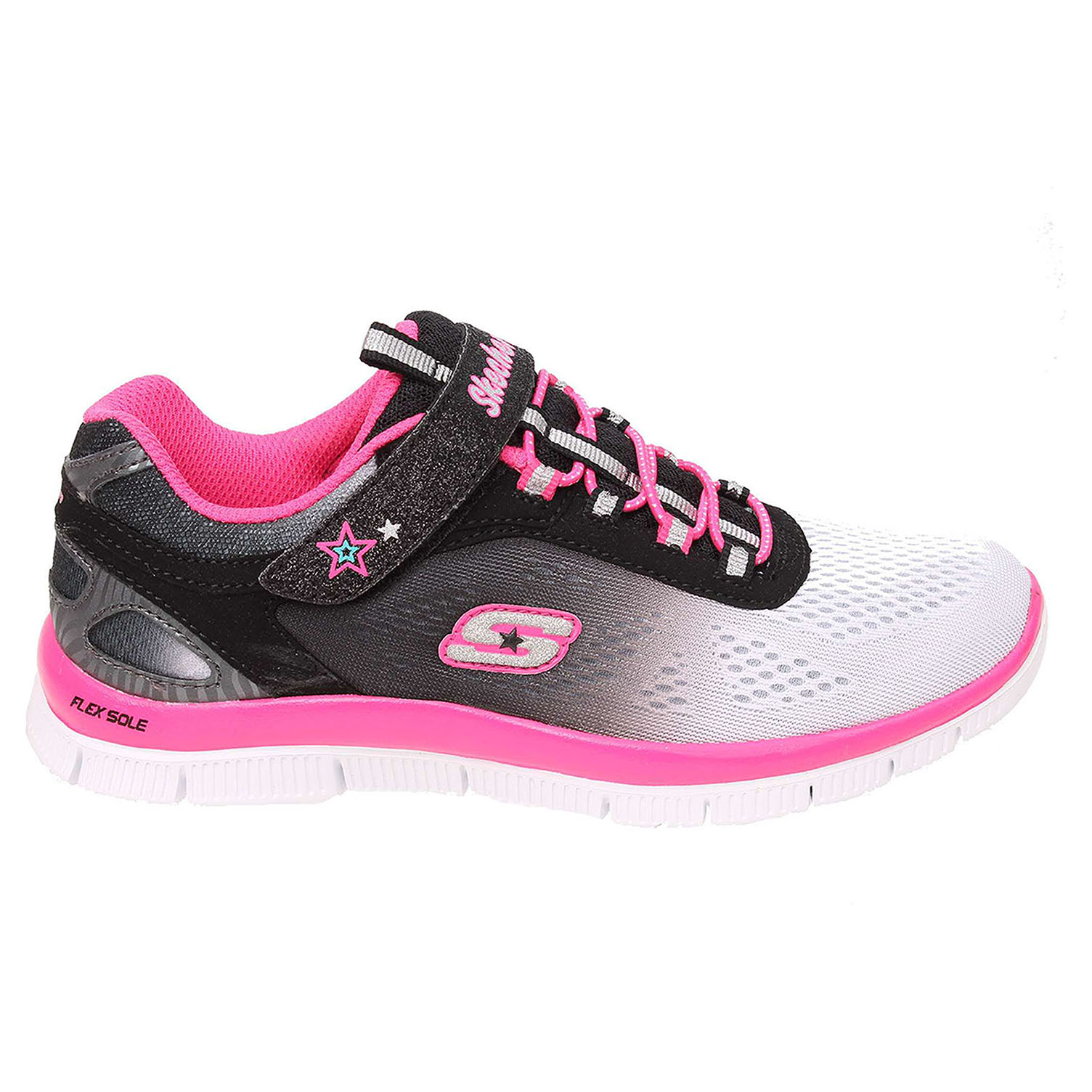 Skechers Skech Appeal white-black-hot pink 27