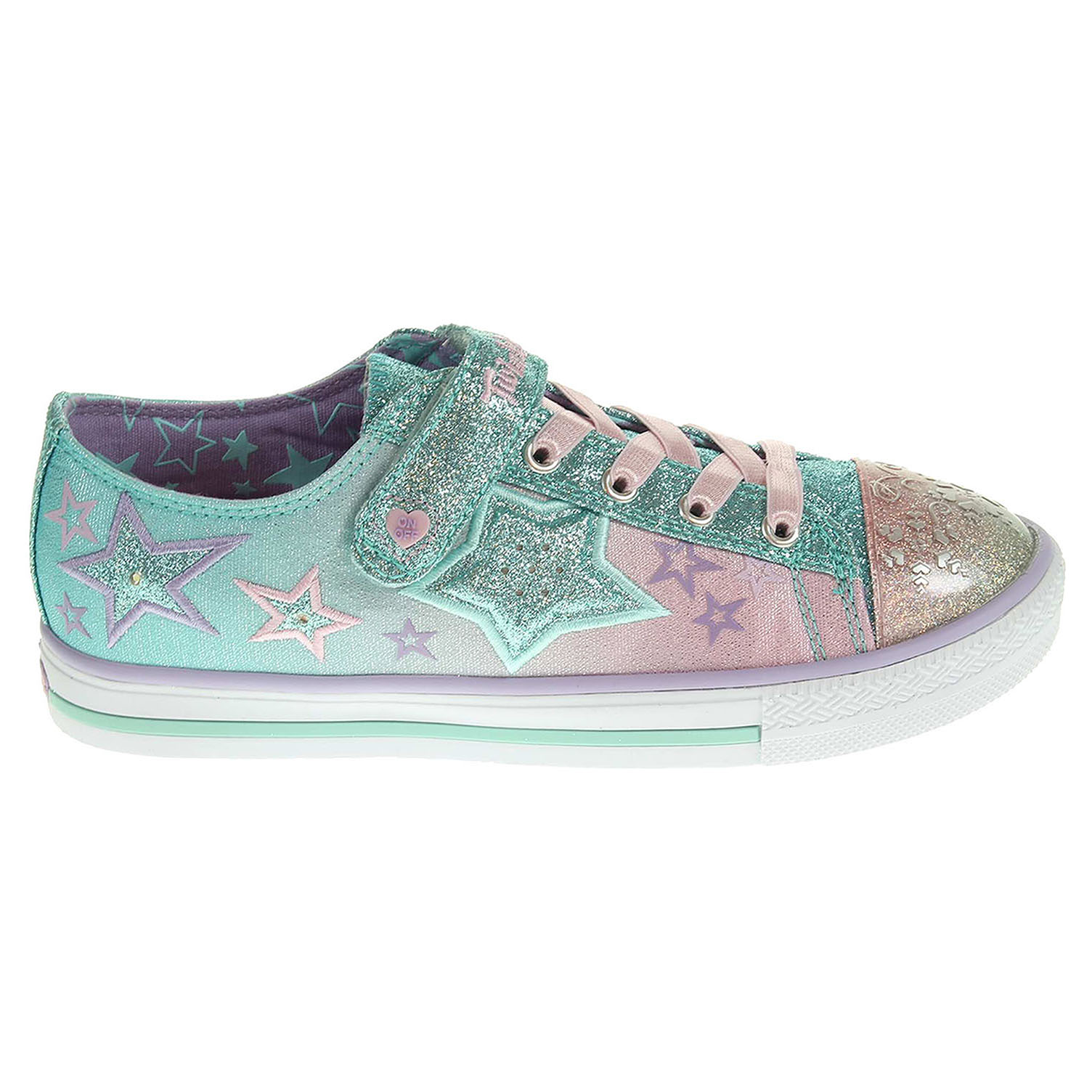 Skechers Enchanters lt.blue-pink 31