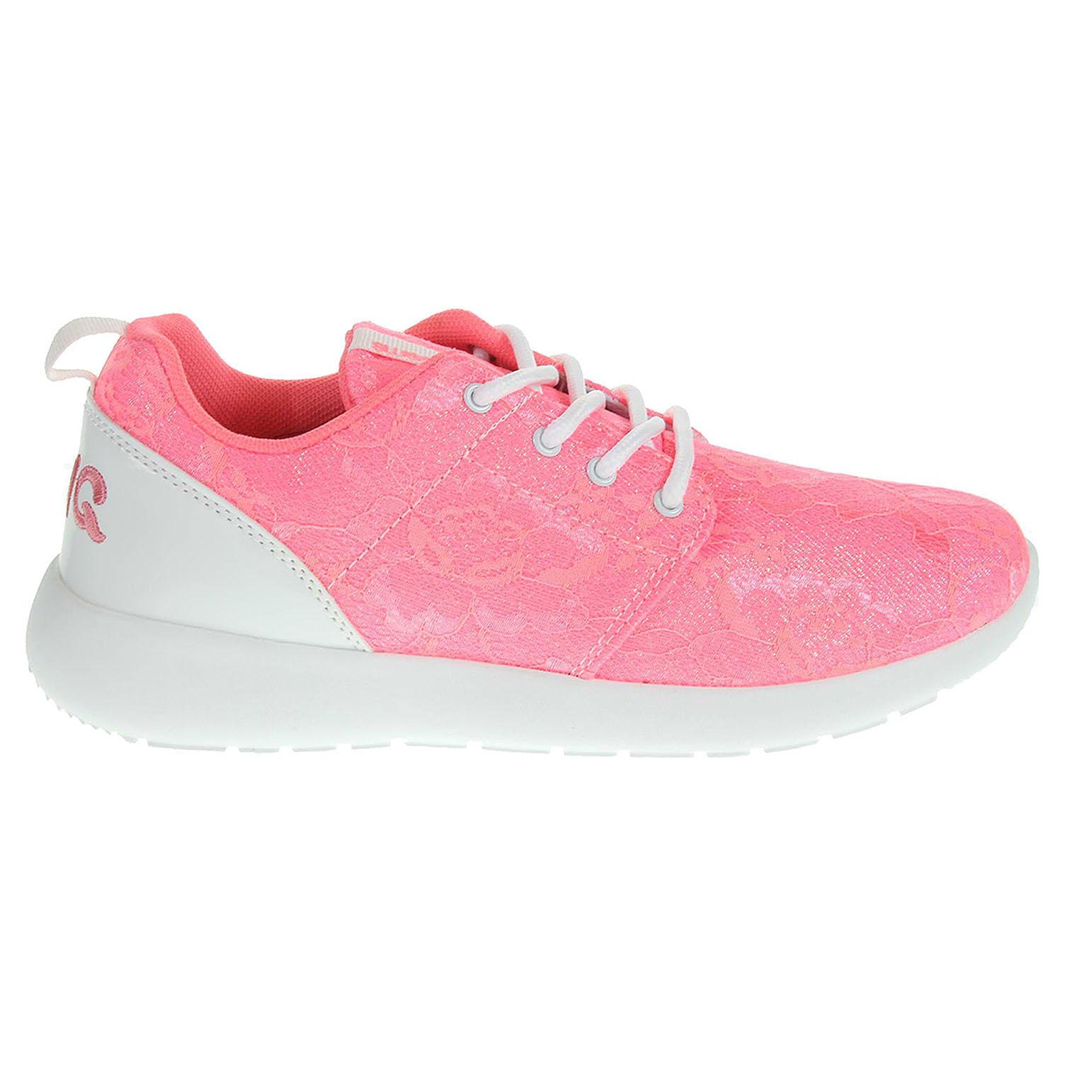 Ecco Primigi Decon 5272500 dívčí obuv růžová-bílá 26600102