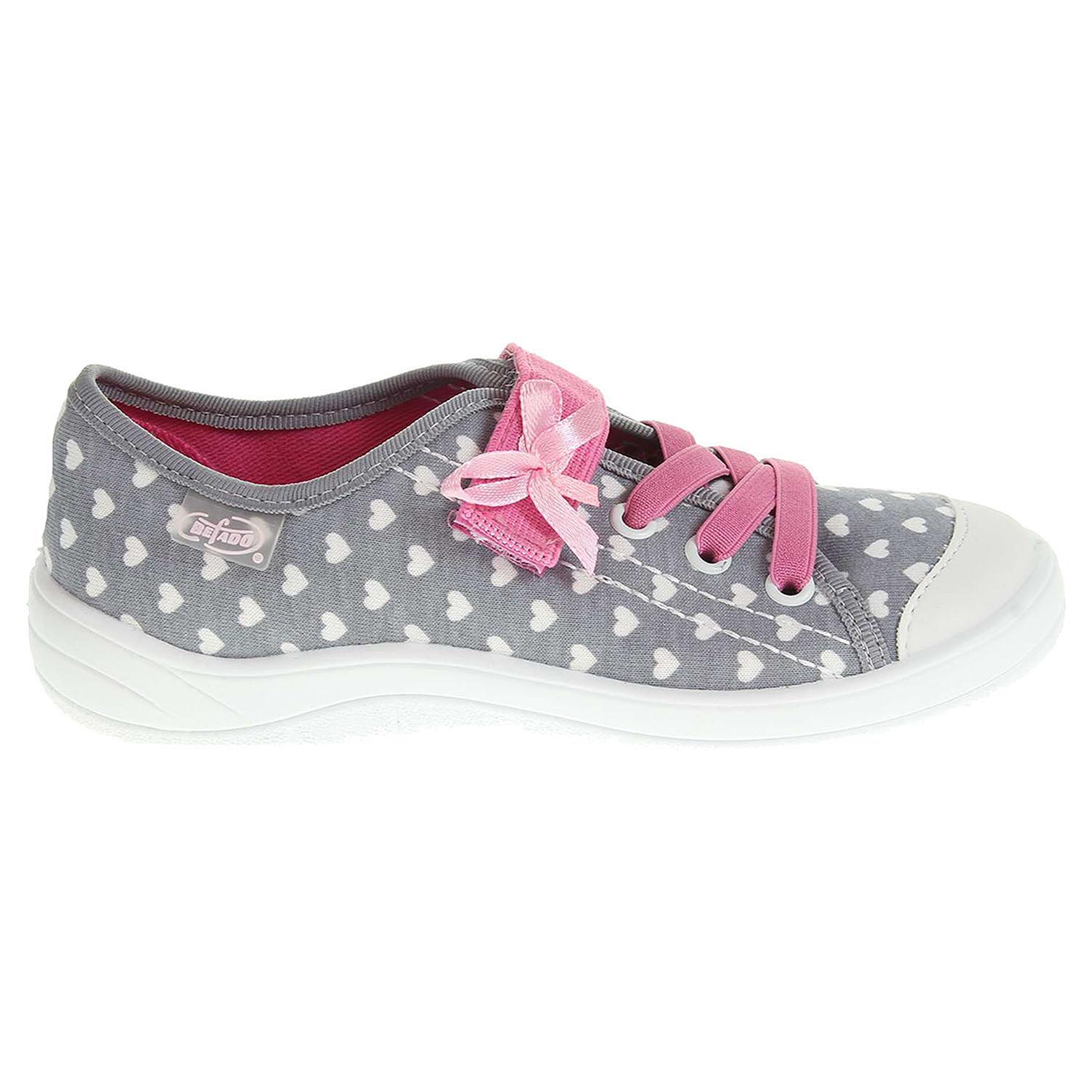 Befado dívčí obuv 251X058 šedá 26