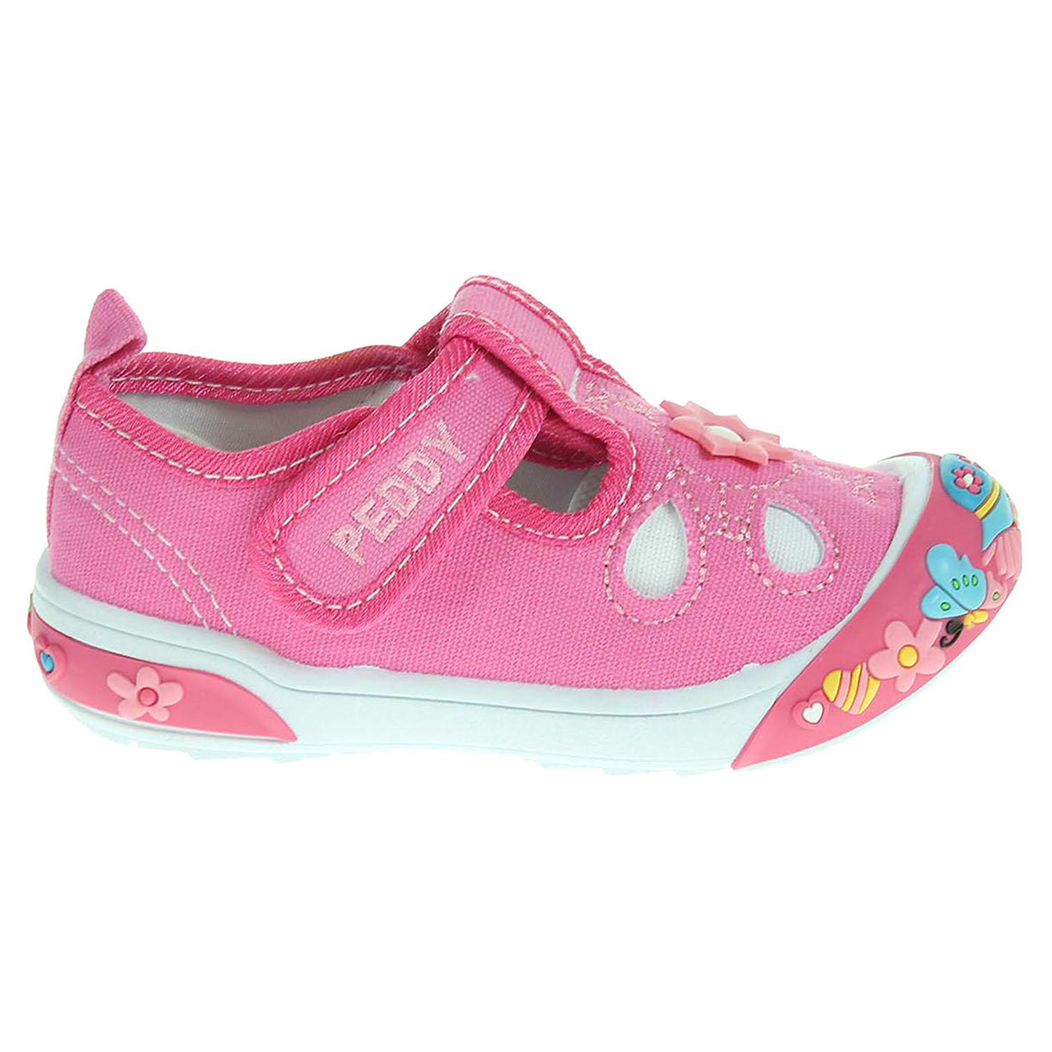 Peddy dívčí obuv PQ-601-25-11 růžová 23
