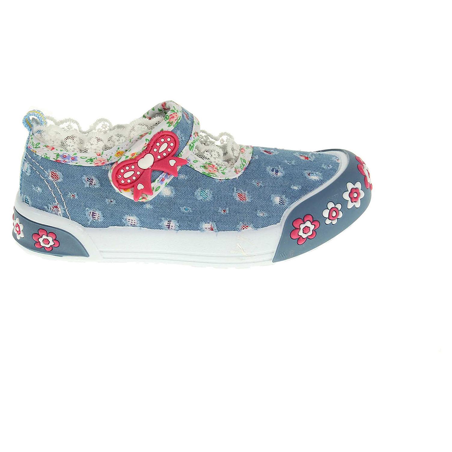 Peddy dívčí obuv PU-601-27-21 modrá 23