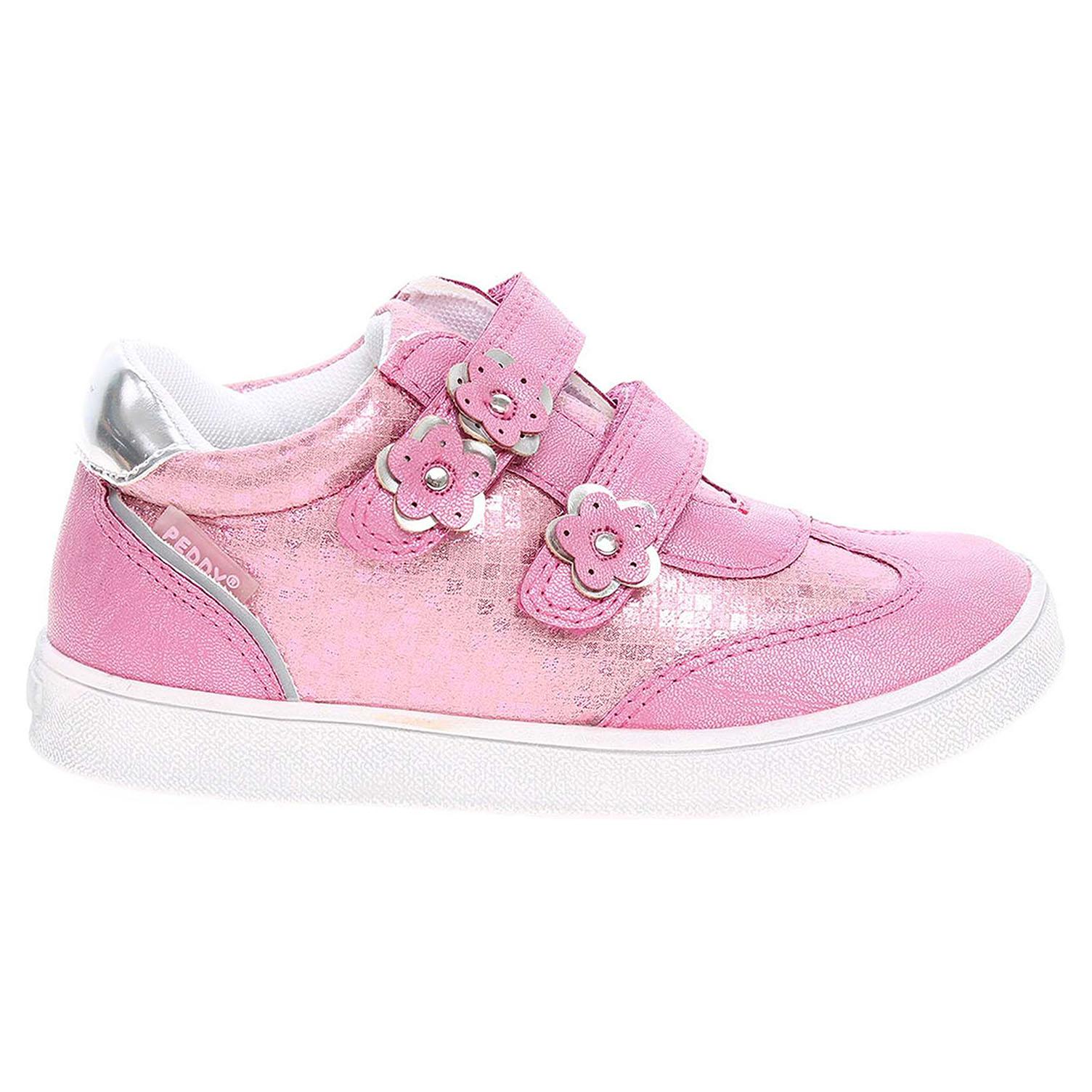 Pedy dívčí obuv PY-618-35-12 růžová 23
