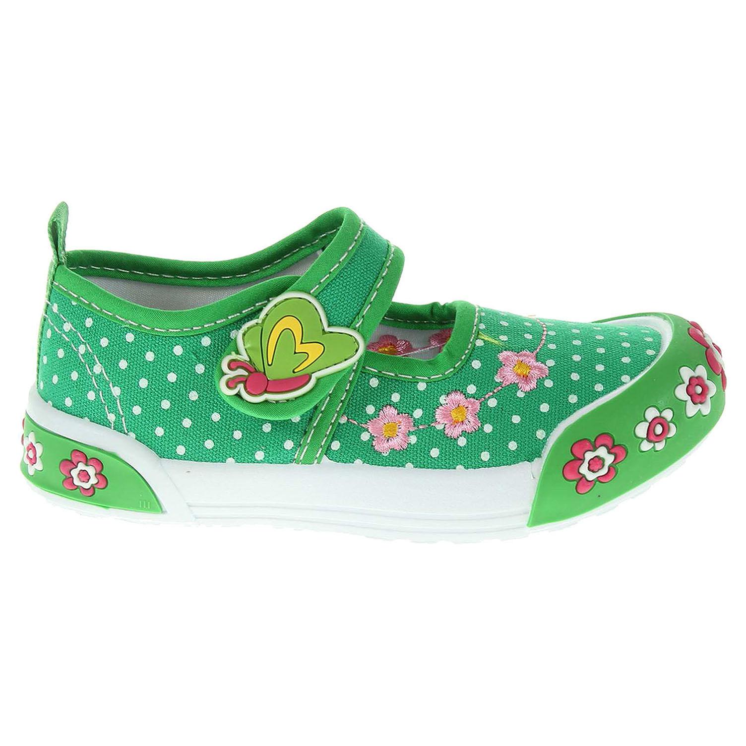 Peddy dívčí obuv PU-601-28-15 zelená 23