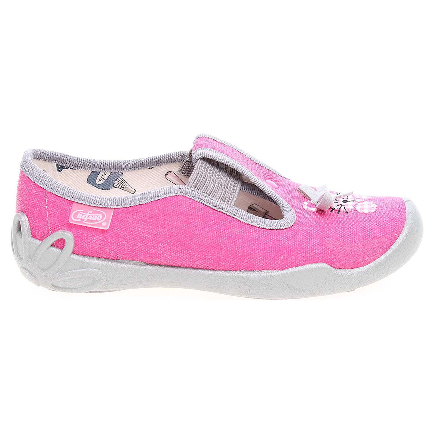 Ecco Befado dívčí bačkory 180X011 růžové 26900152