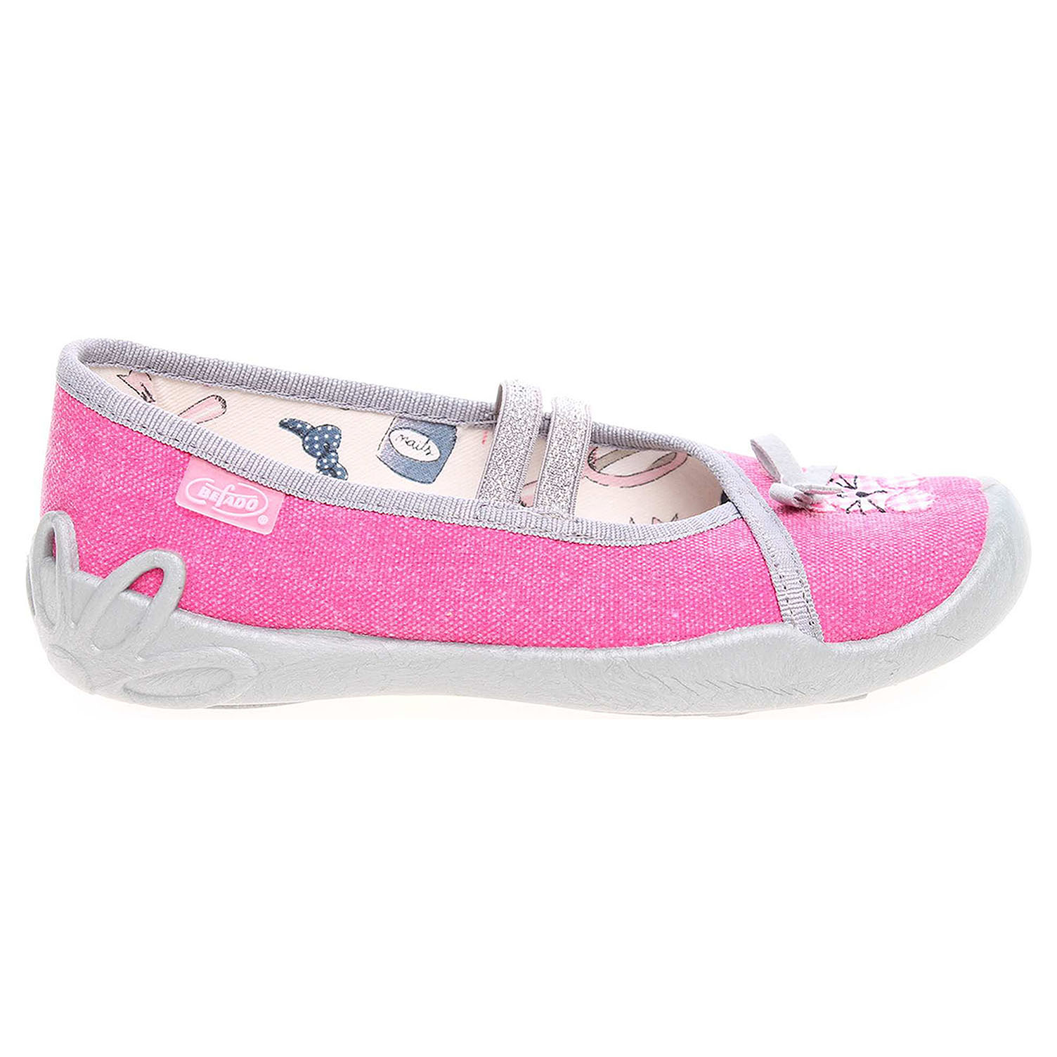 Ecco Befado dívčí bačkory 116X201 růžové 26900154