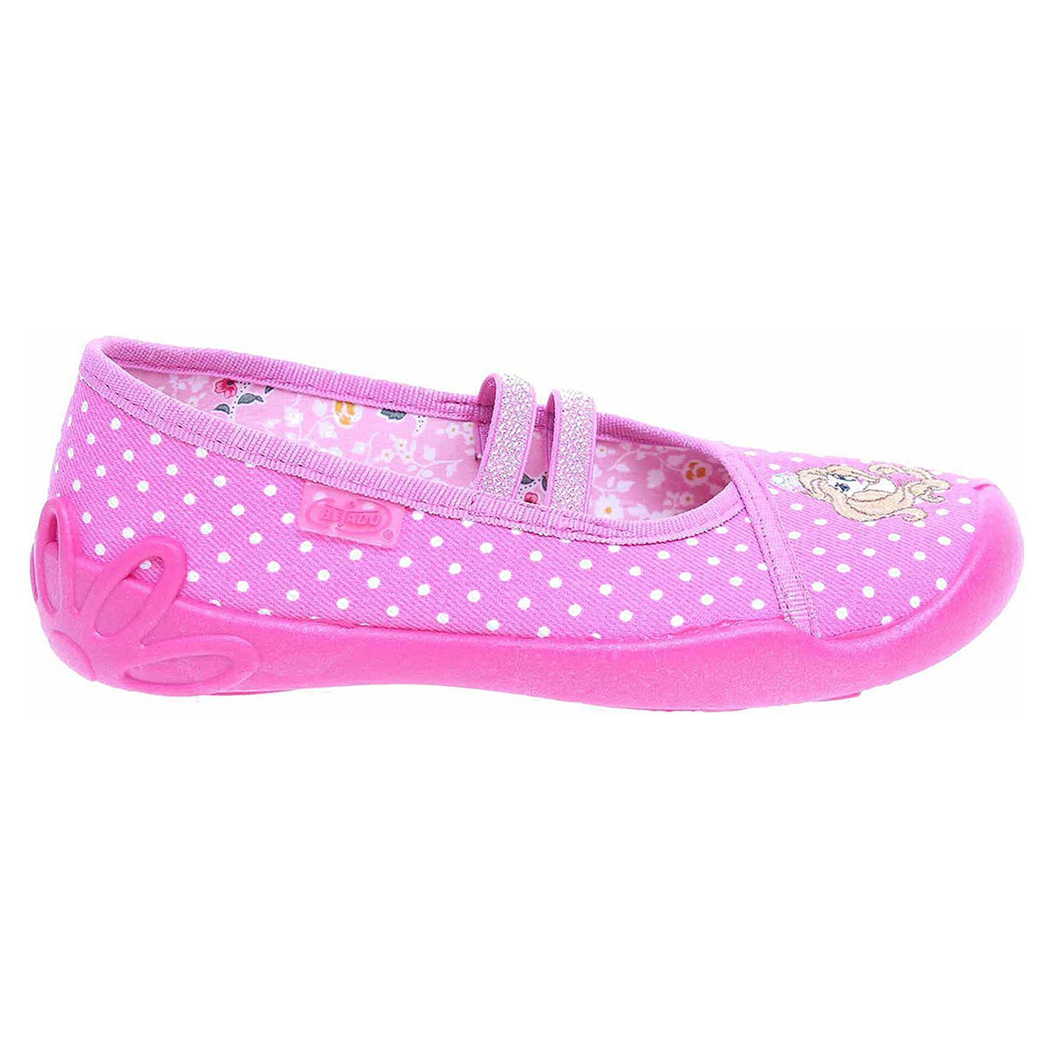 Ecco Befado dívčí bačkory 116X222 růžové 26900166