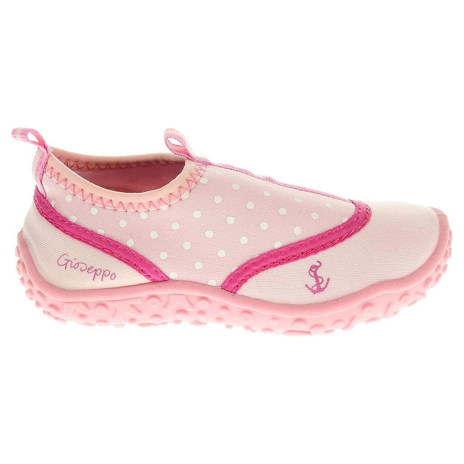 Gioseppo Mesina pink dívčí obuv do vody 19