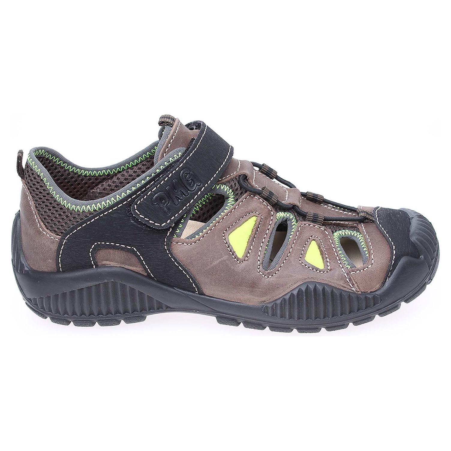 Ecco Primigi chlapecké sandály 3660077 hnědé 29300059