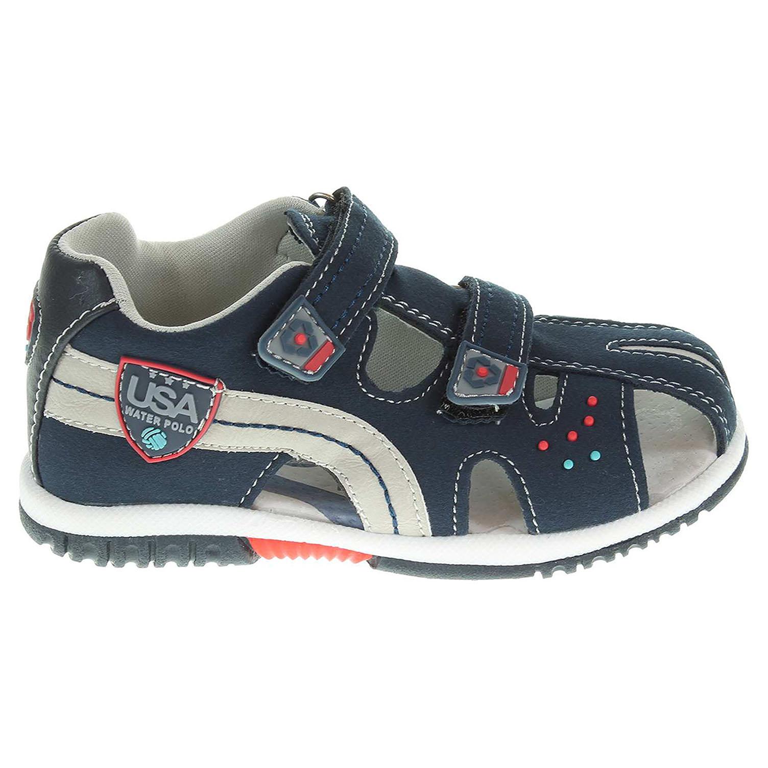 Ecco Chlapecké sandály 105023 modré 29300060