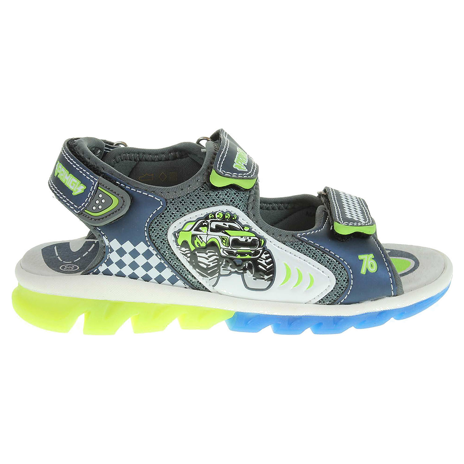 Ecco Primigi chlapecké sandály 7353000 modré 29300069