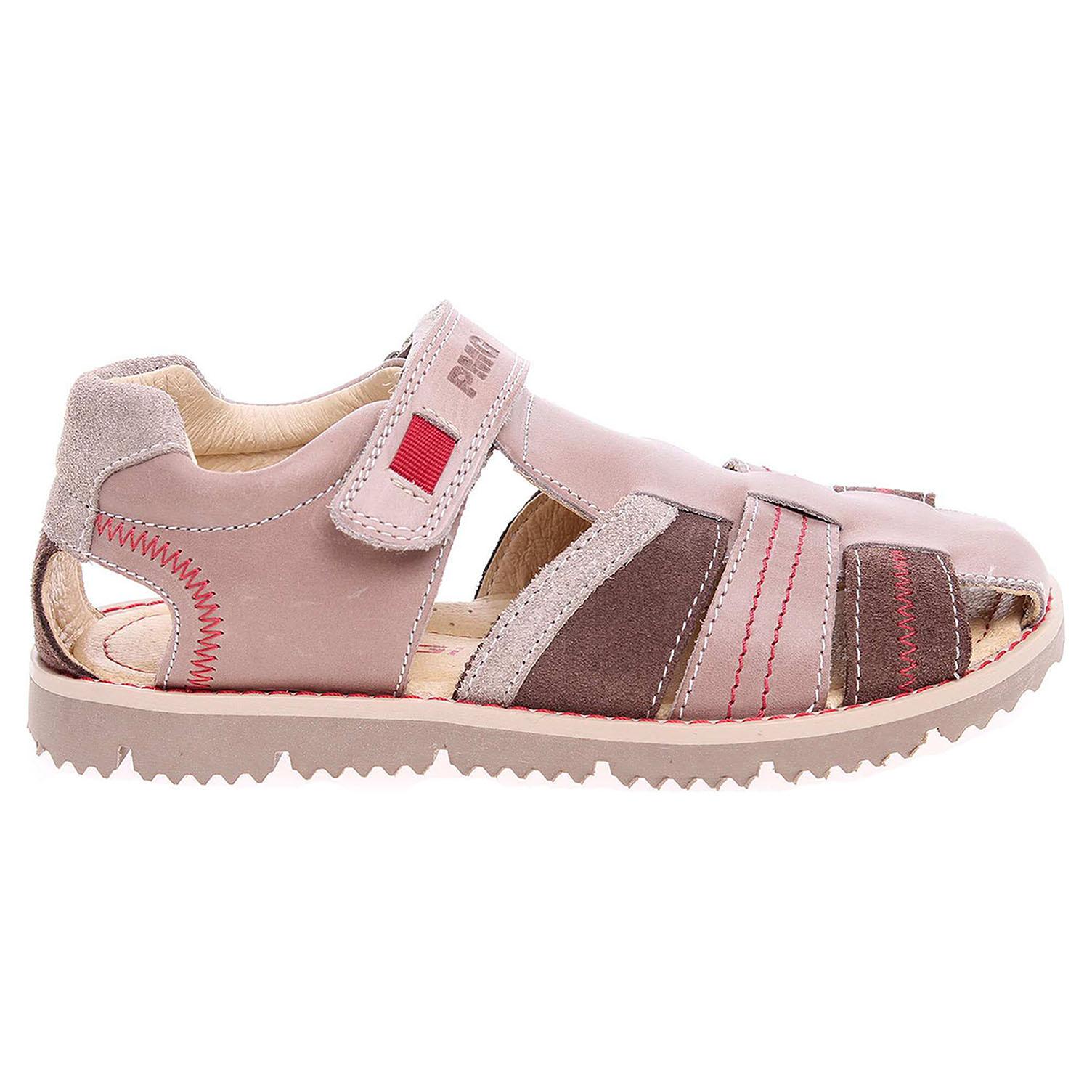 Ecco Primigi chlapecké sandály 7128300 hnědé 29300070