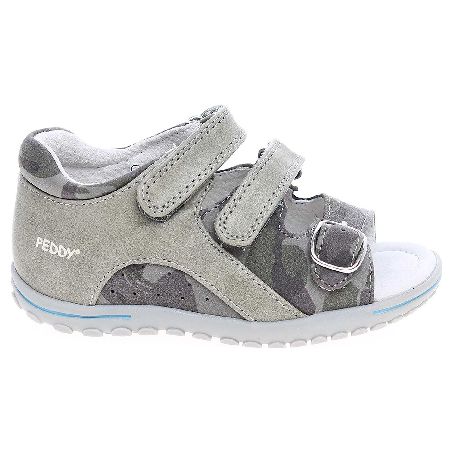 Ecco Peddy chlapecké sandály PW-612-38-05 khaki 29300072