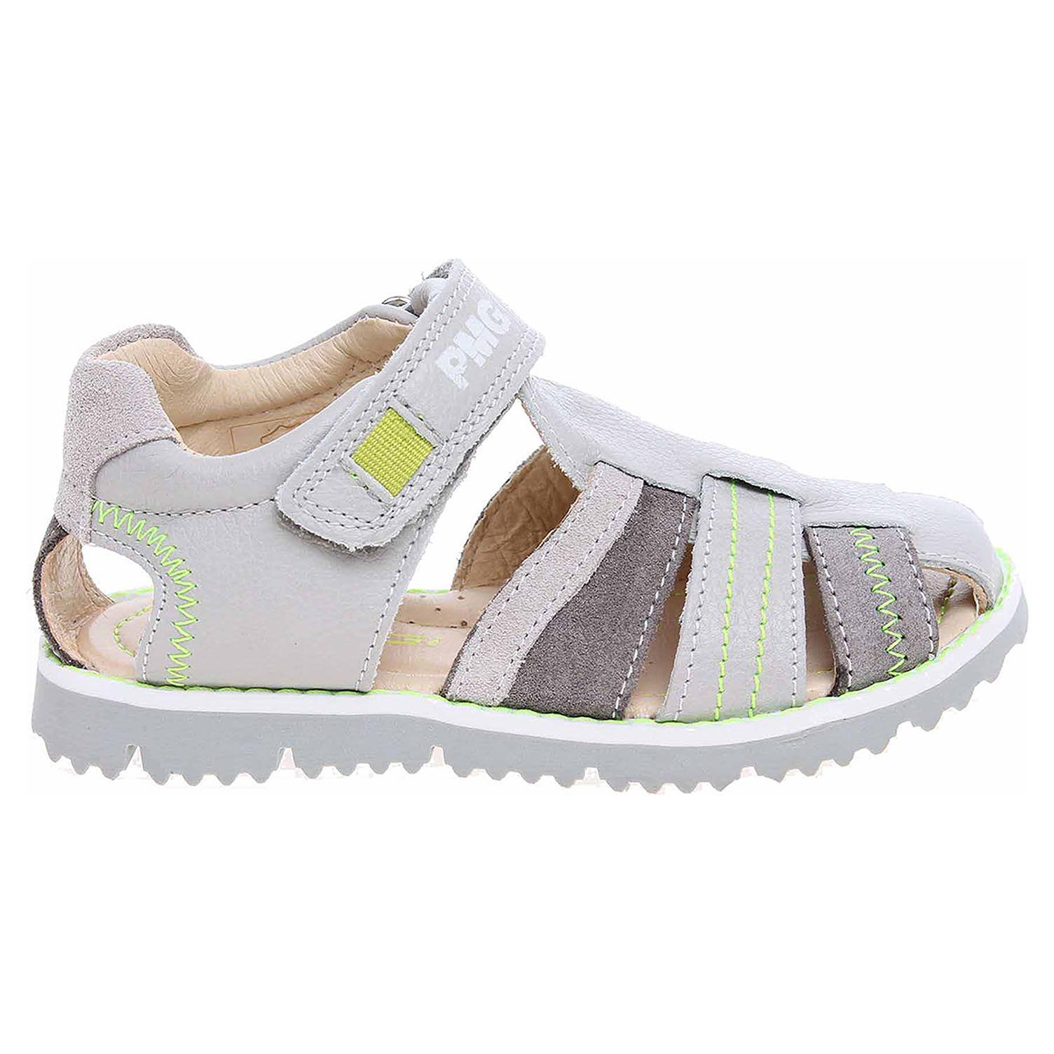 Ecco Primigi chlapecké sandály 7128100 šedé 29300077