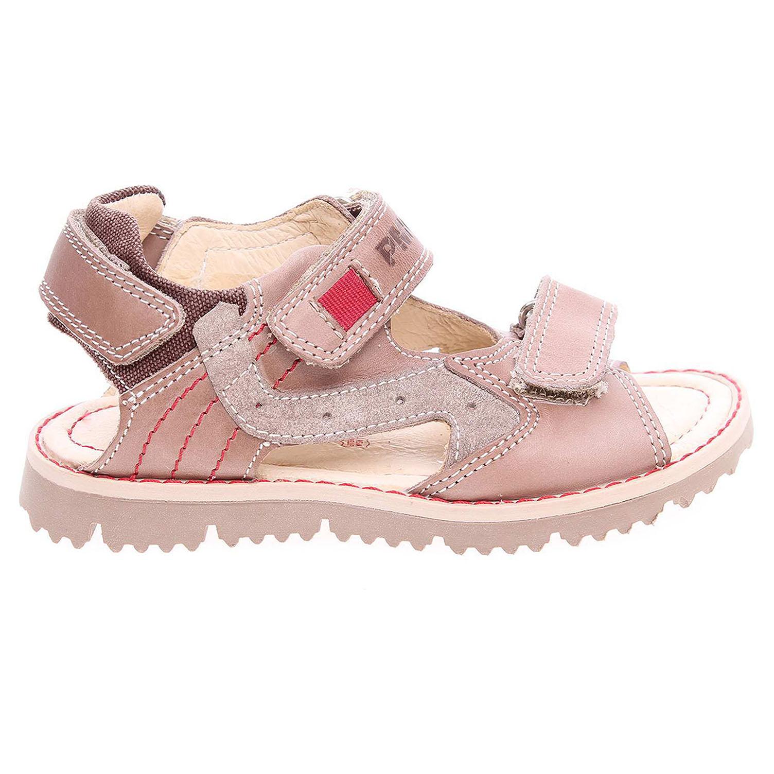 Ecco Primigi chlapecké sandály 7129300 hnědé 29300078