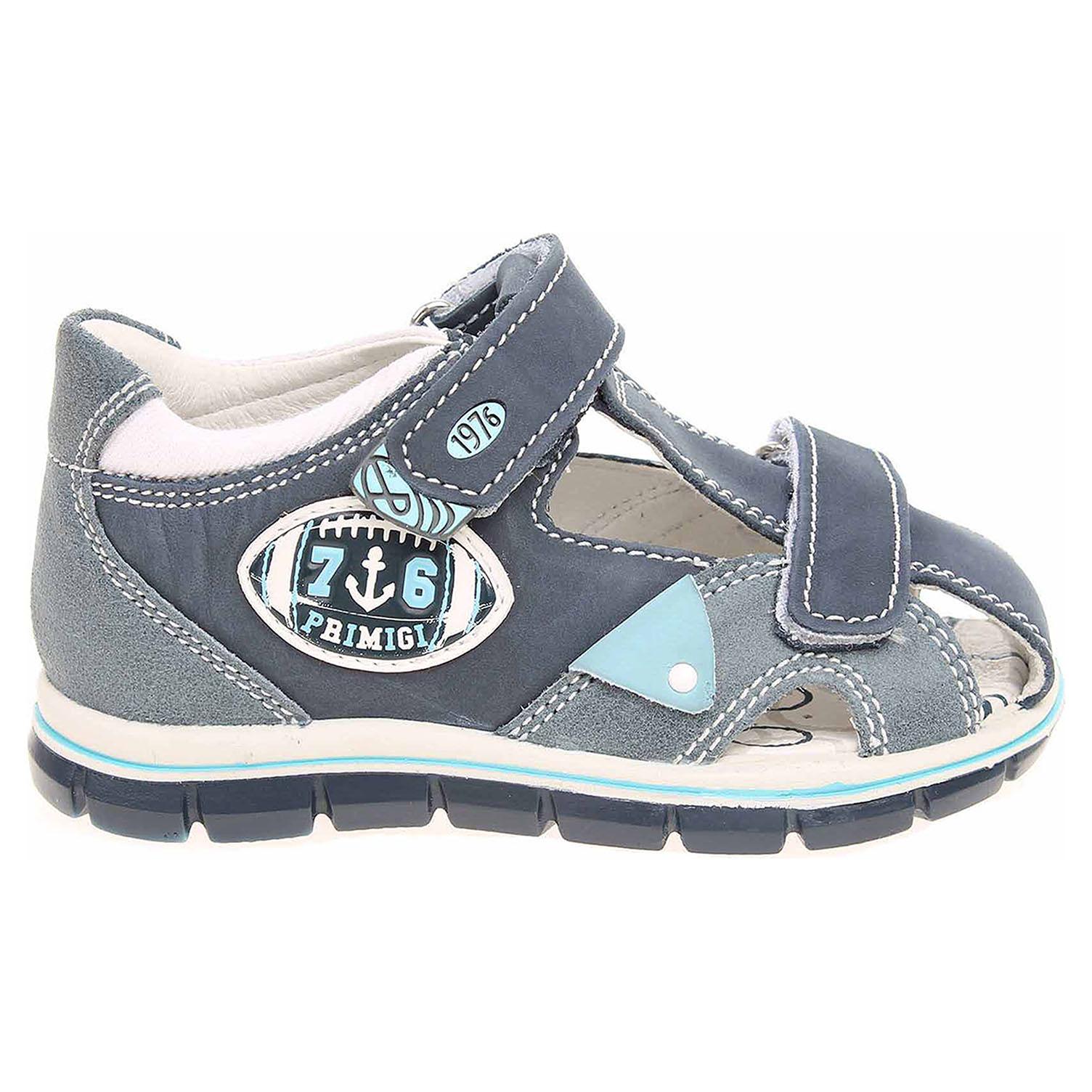 Ecco Primigi chlapecké sandály 7566200 modré 29300080