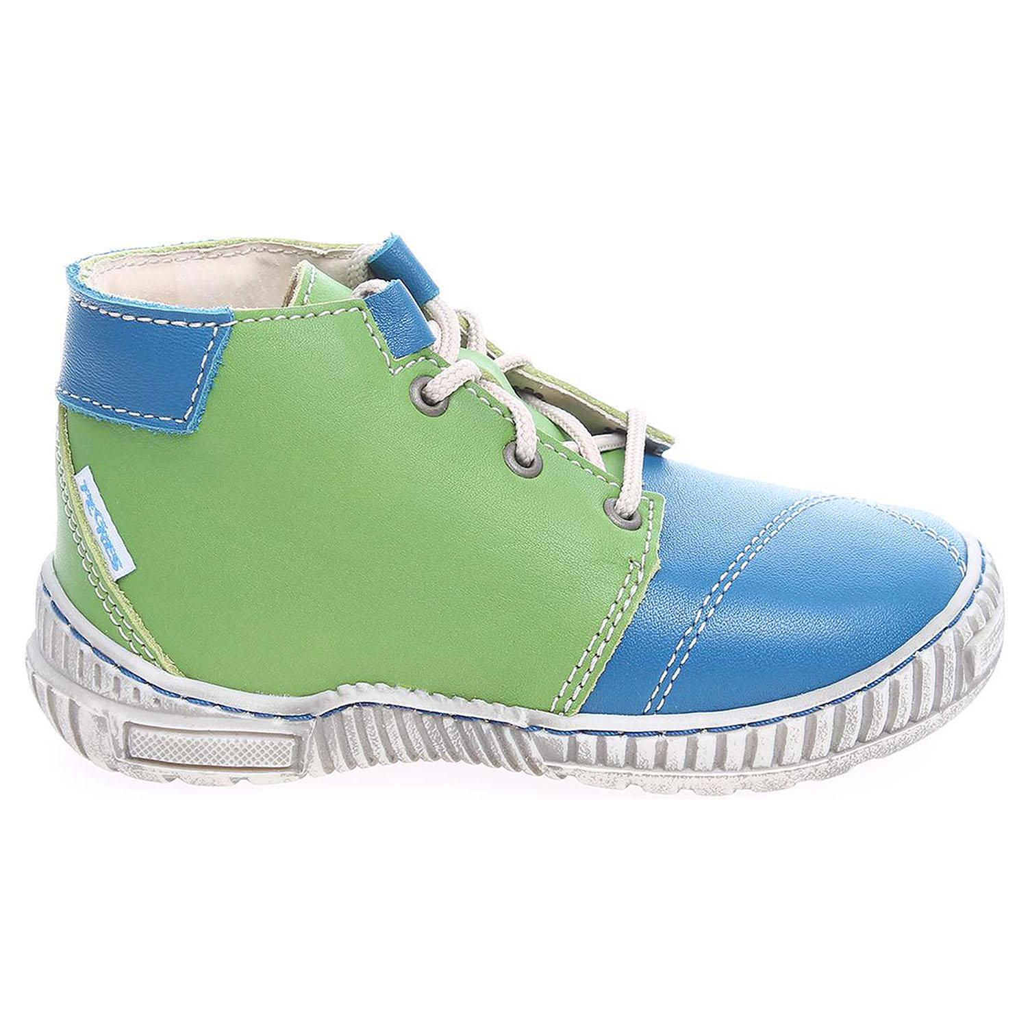 Ecco Pegres chlapecká obuv 1406.00 modrá-zelená 29400066
