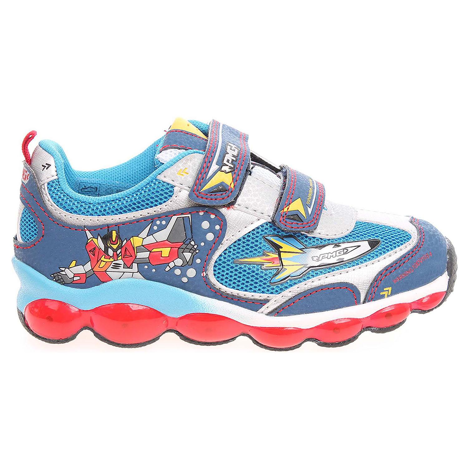 Ecco Primigi Autobot Light chlapecká obuv modrá 29700077