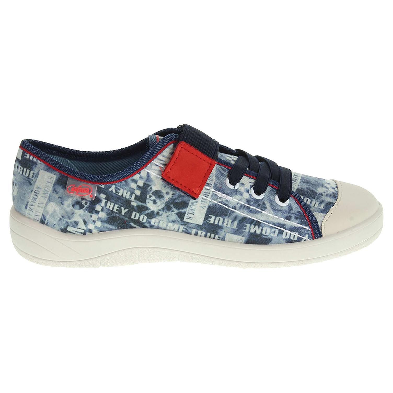 Ecco Befado chlapecká obuv 251Y053 modrá 29700079