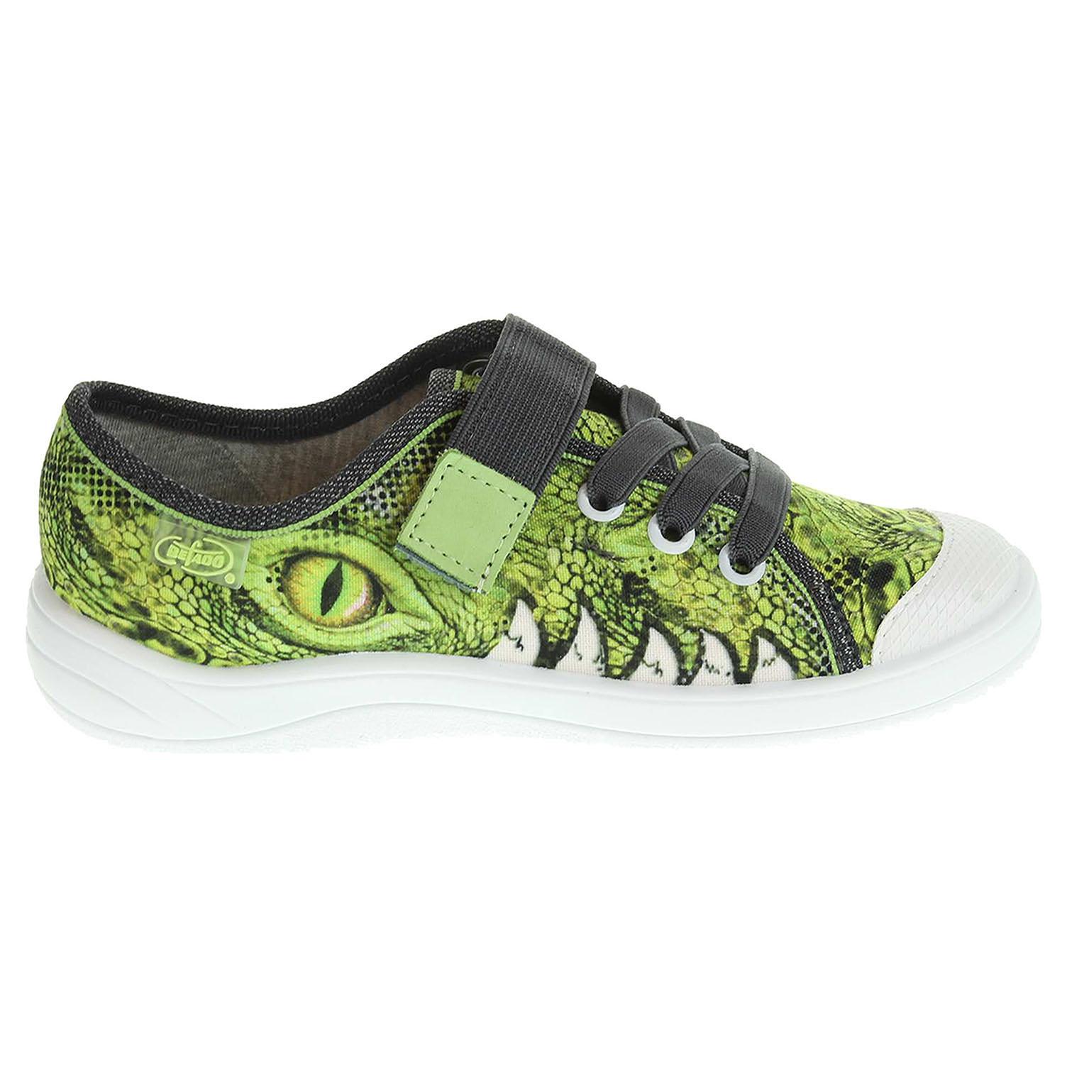 Befado chlapecká obuv 251X057 zelená 25