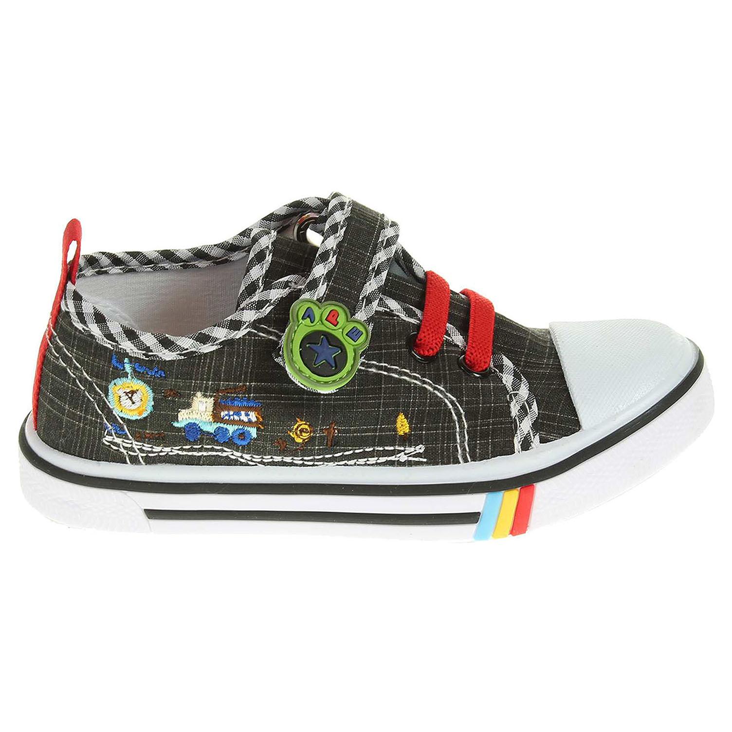 Ecco Peddy chlapecká obuv PU-601-26-08 černá 29700083