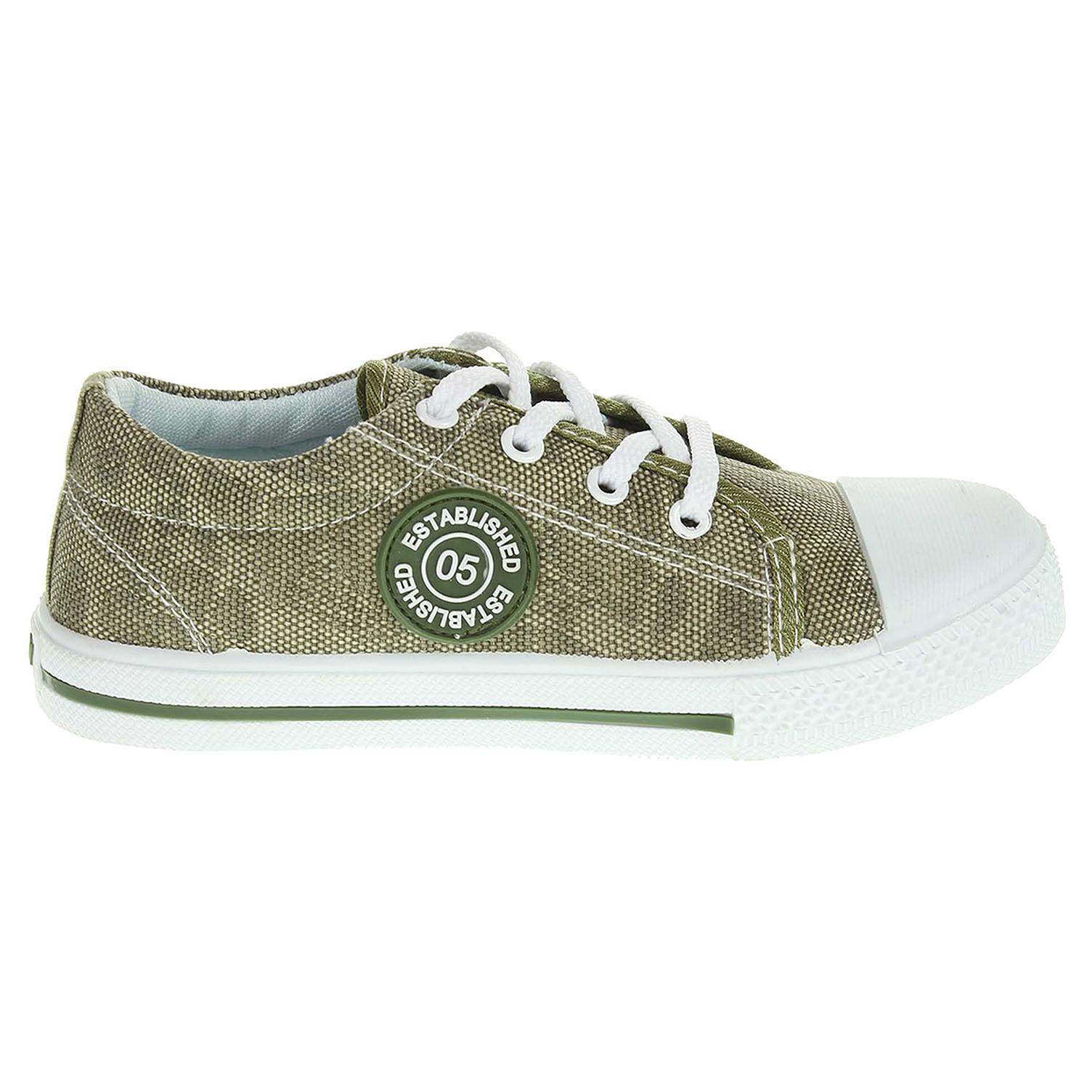 Ecco Peddy chlapecká obuv PU-501-28-37 zelená 29700084