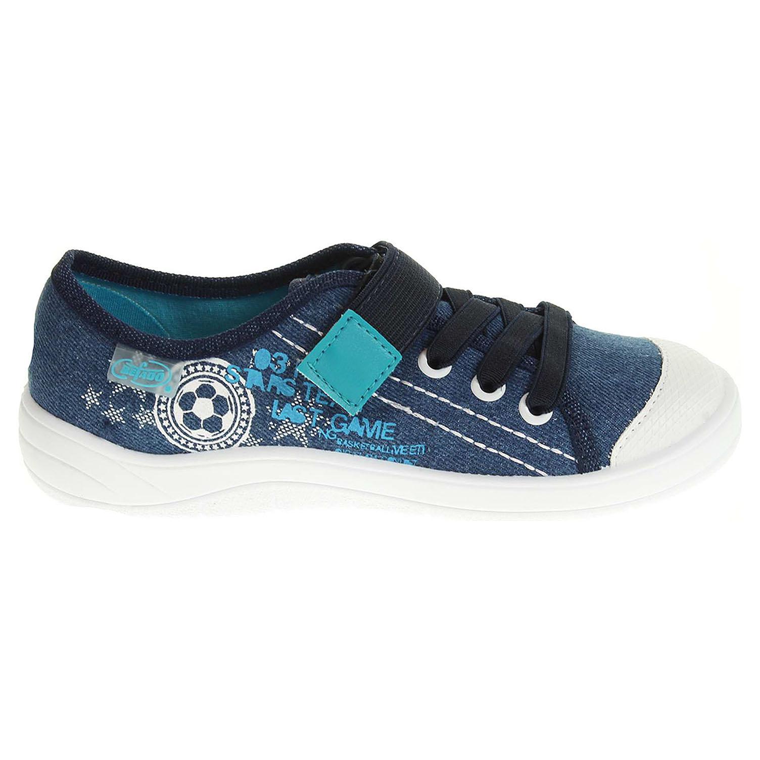 Ecco Befado chlapecká obuv 251X040 modrá 29700088