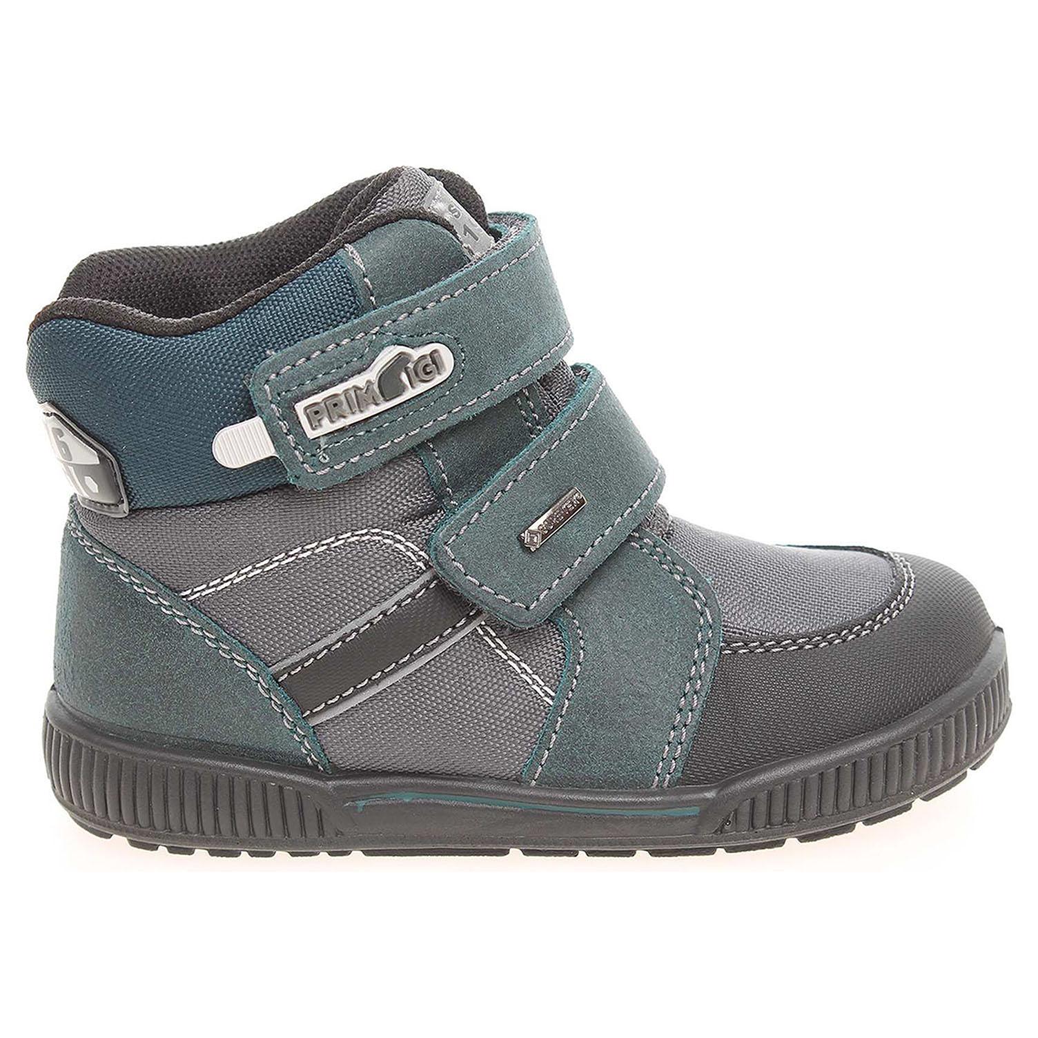 Ecco Primigi Six 6548277 chlapecké sněhule modré 29800042