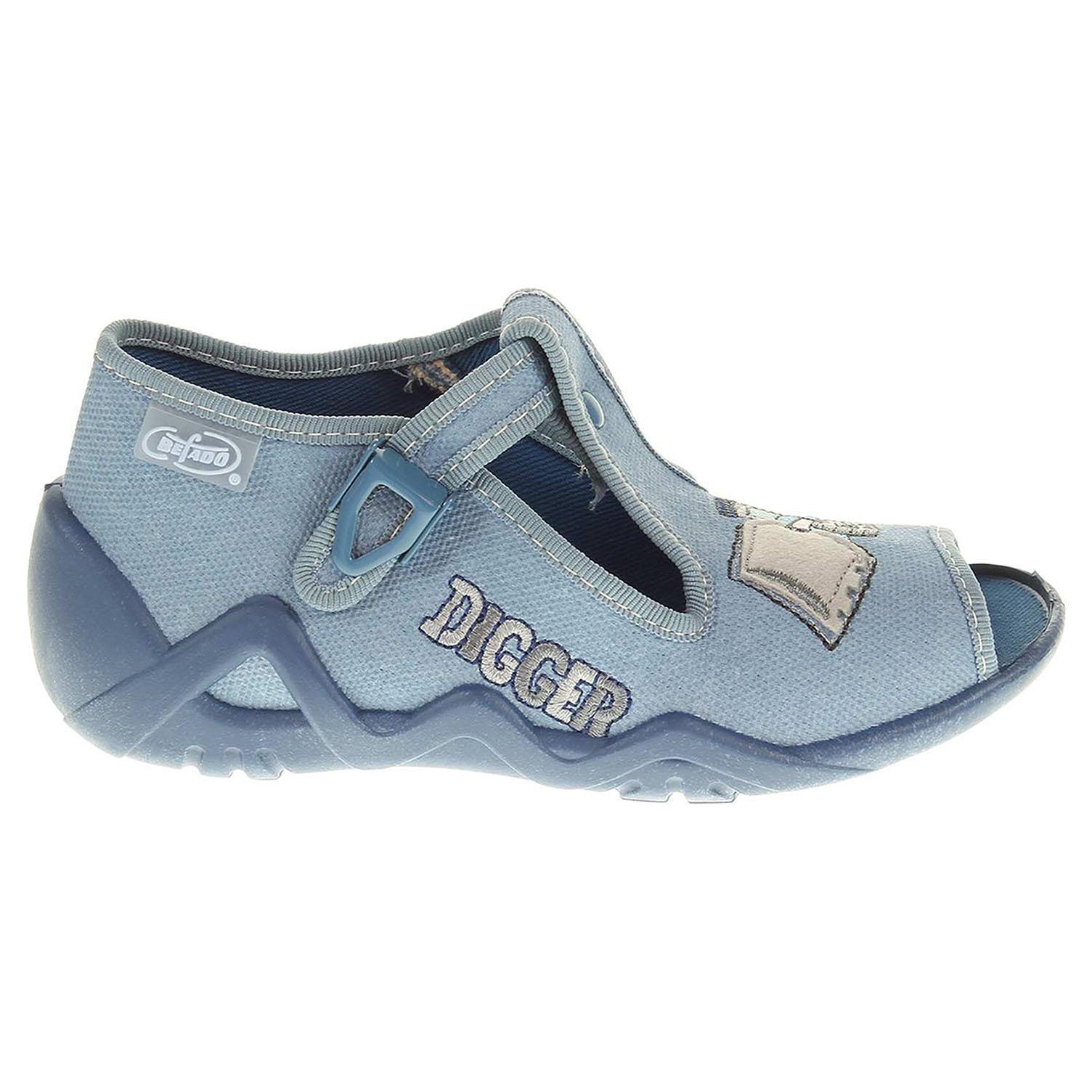 Befado chlapecké bačkory 217P071 modré 24