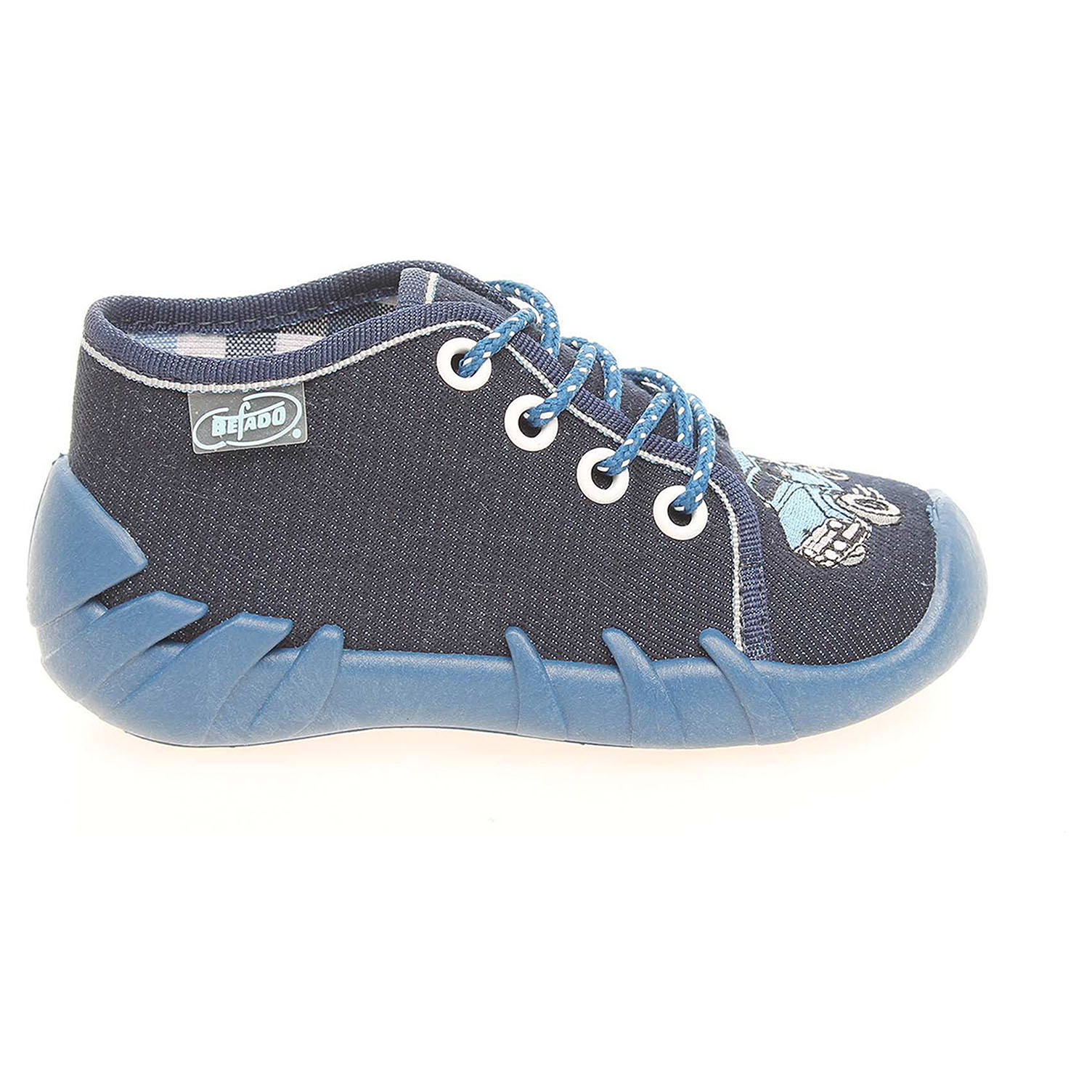 Befado chlapecké bačkory 130P058 modré 18