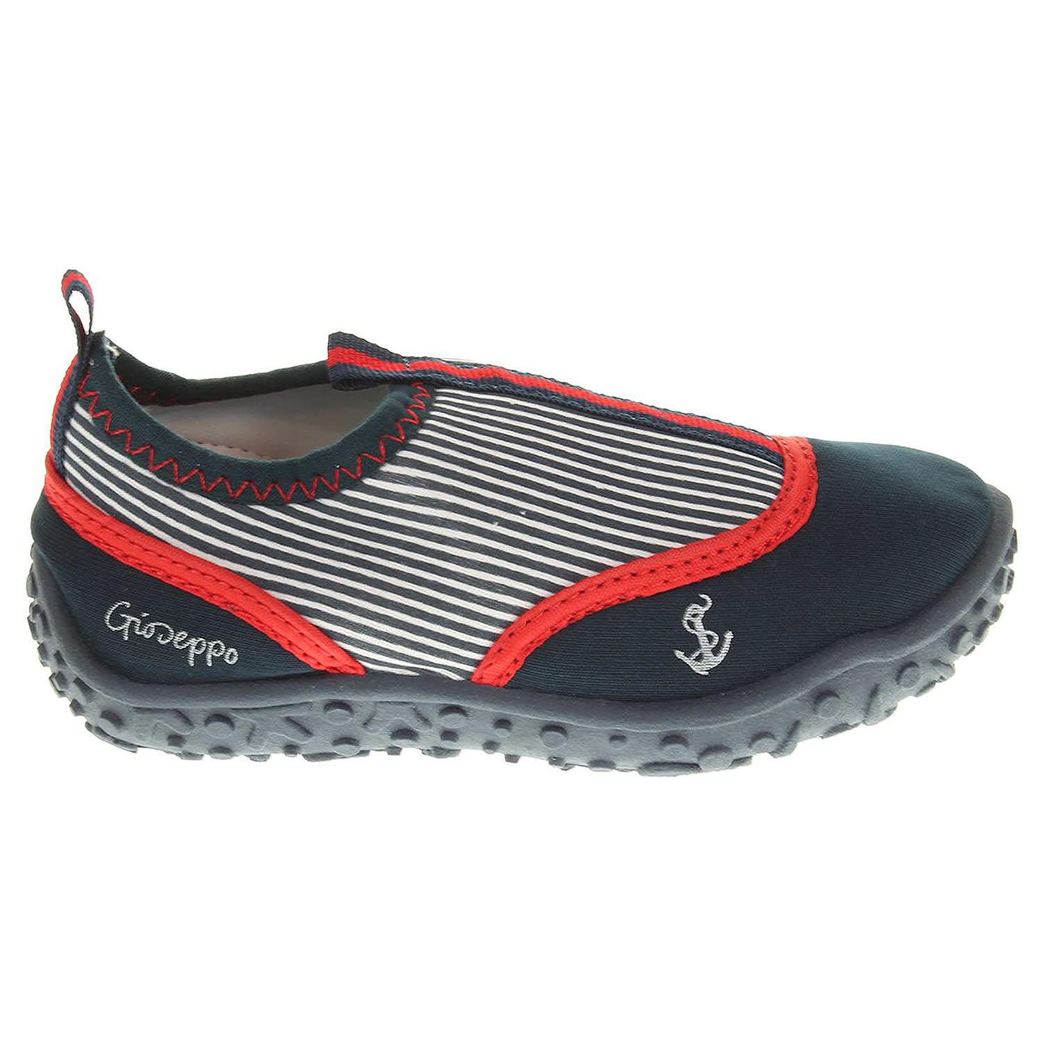 Ecco Gioseppo Biriola navy chlapecká obuv do vody 30100010