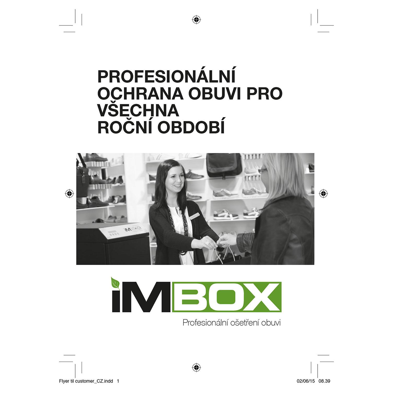 Ecco IMBOX impregnační nástřik obuvi 99700001