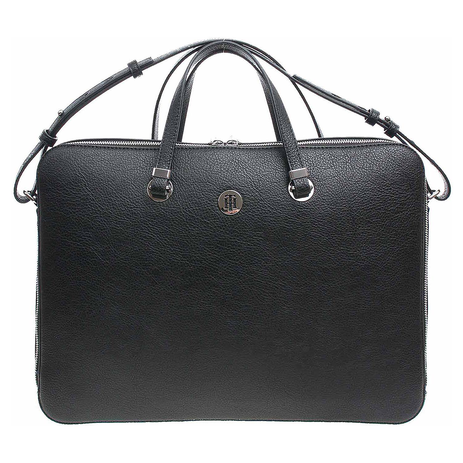fb0c7ff129 Ecco Tommy Hilfiger dámská taška AW0AW06424 002 black-warm sand 10701216