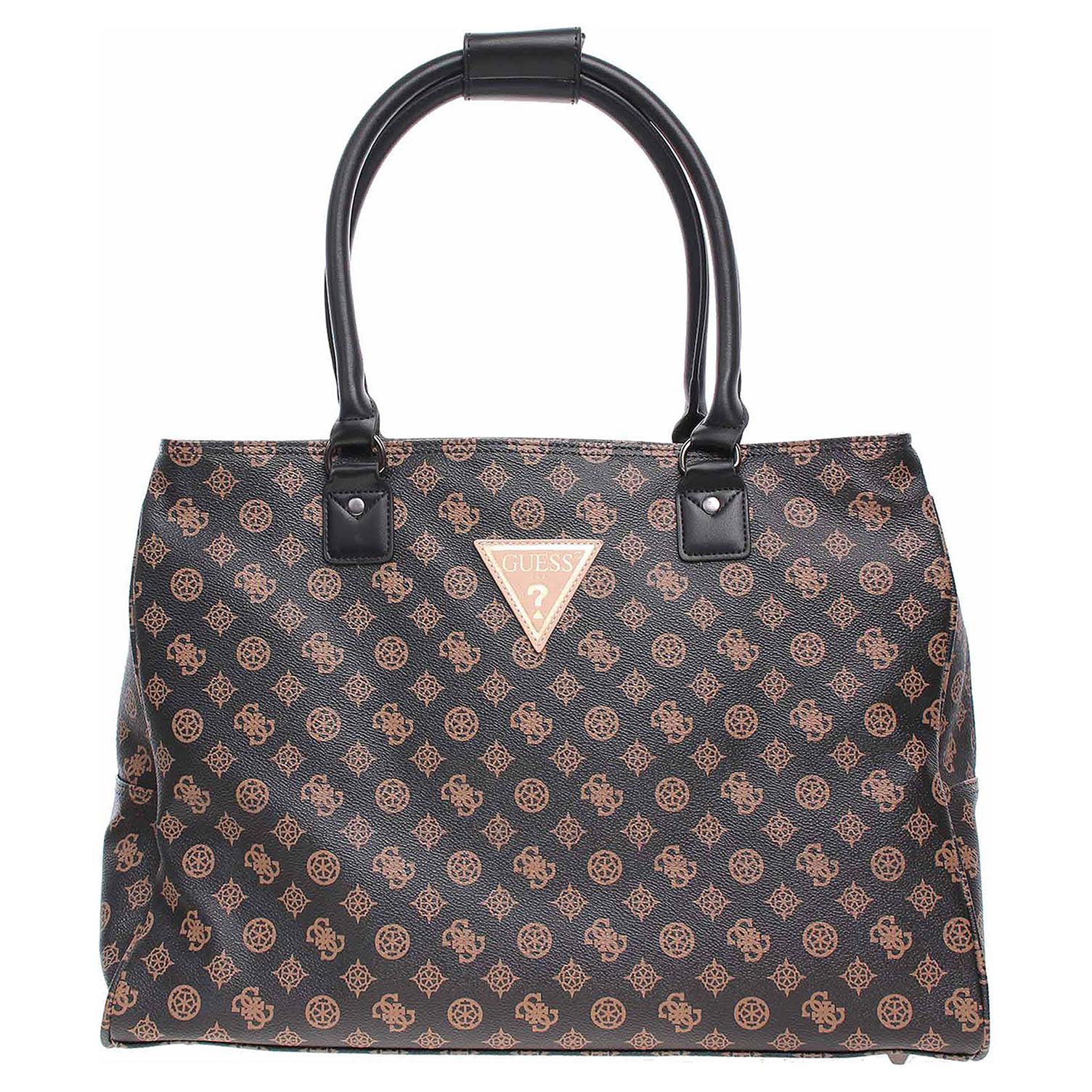 Ecco Guess dámská taška Wilder Travel brown 10701238