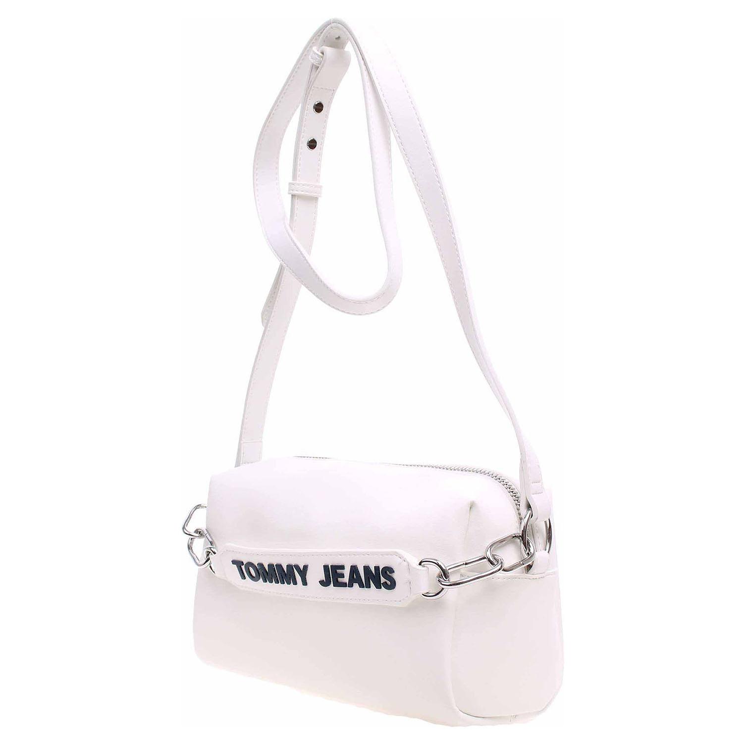 Ecco Tommy Hilfiger dámská kabelka AW0AW06537 107 classic white 11891498 84fdc26246f