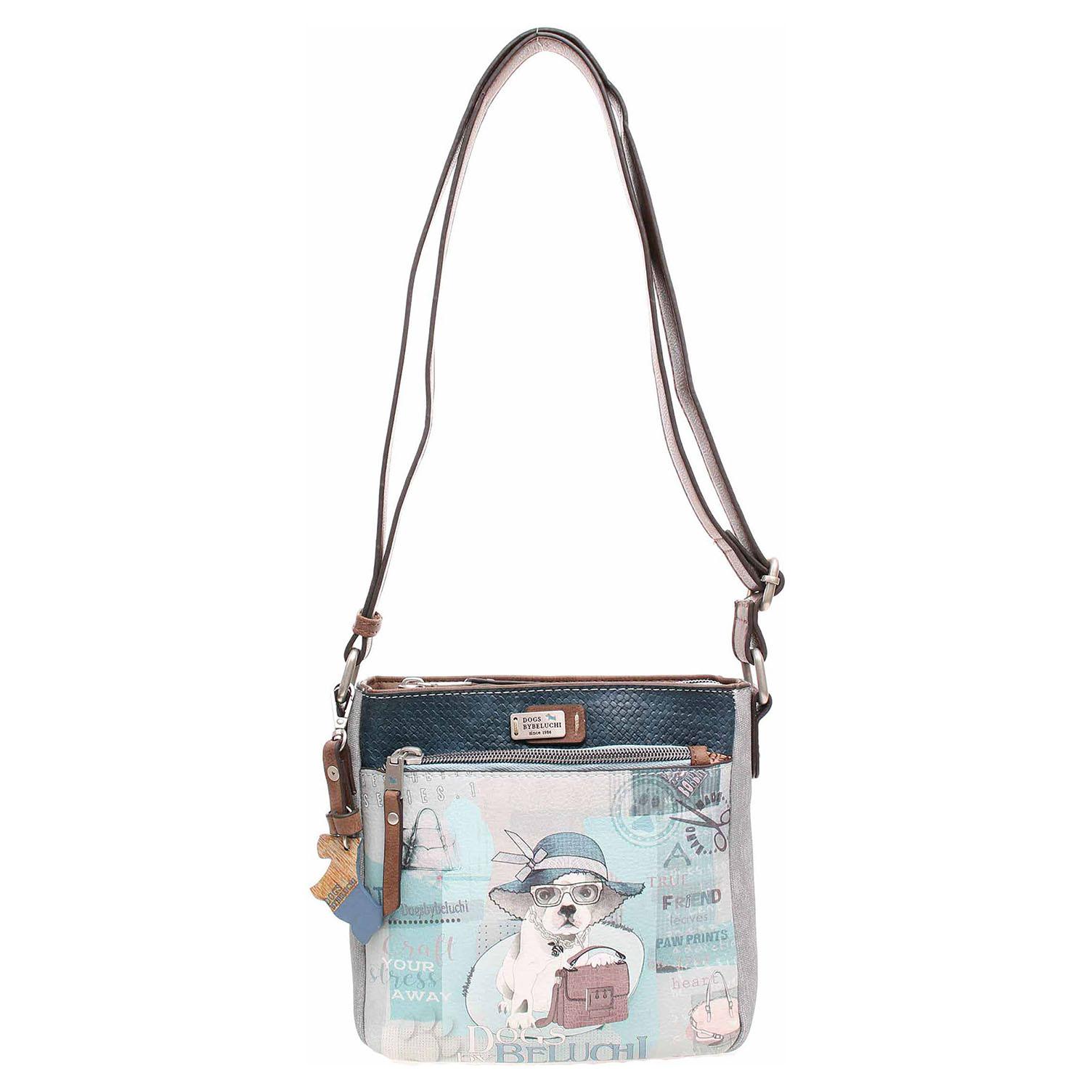 Ecco Dogsbybeluchi dámská kabelka 28402-01 modrá 11891557