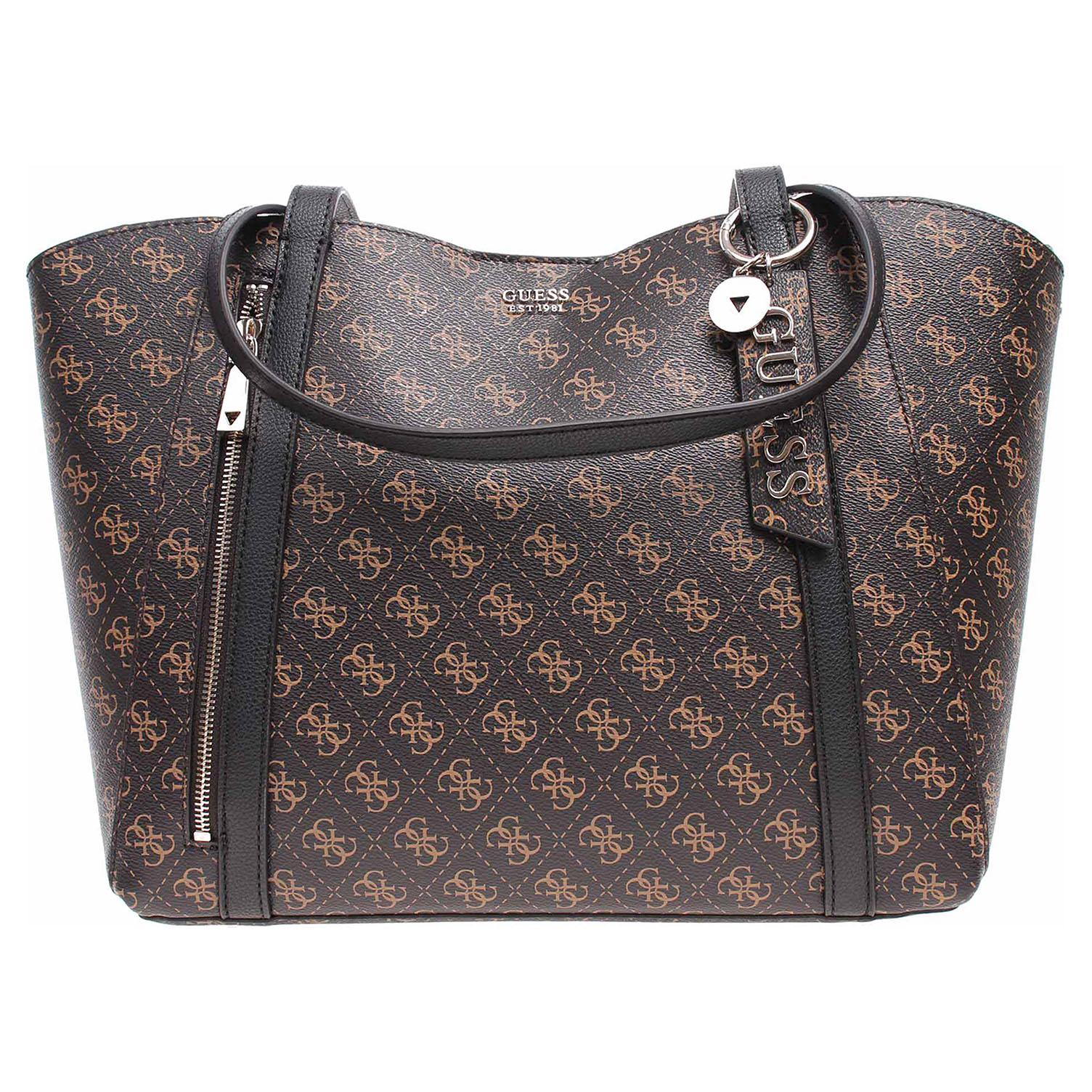 Ecco Guess dámská kabelka QL788123 brown-black 11891809