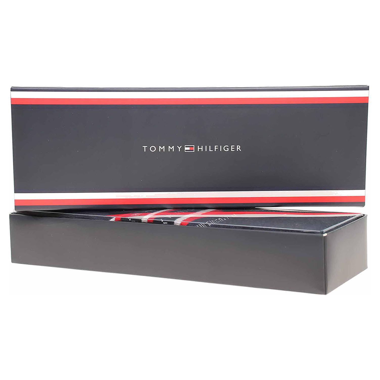 Levně Tommy Hilfiger pánské ponožky 100000844 002 dark navy 42