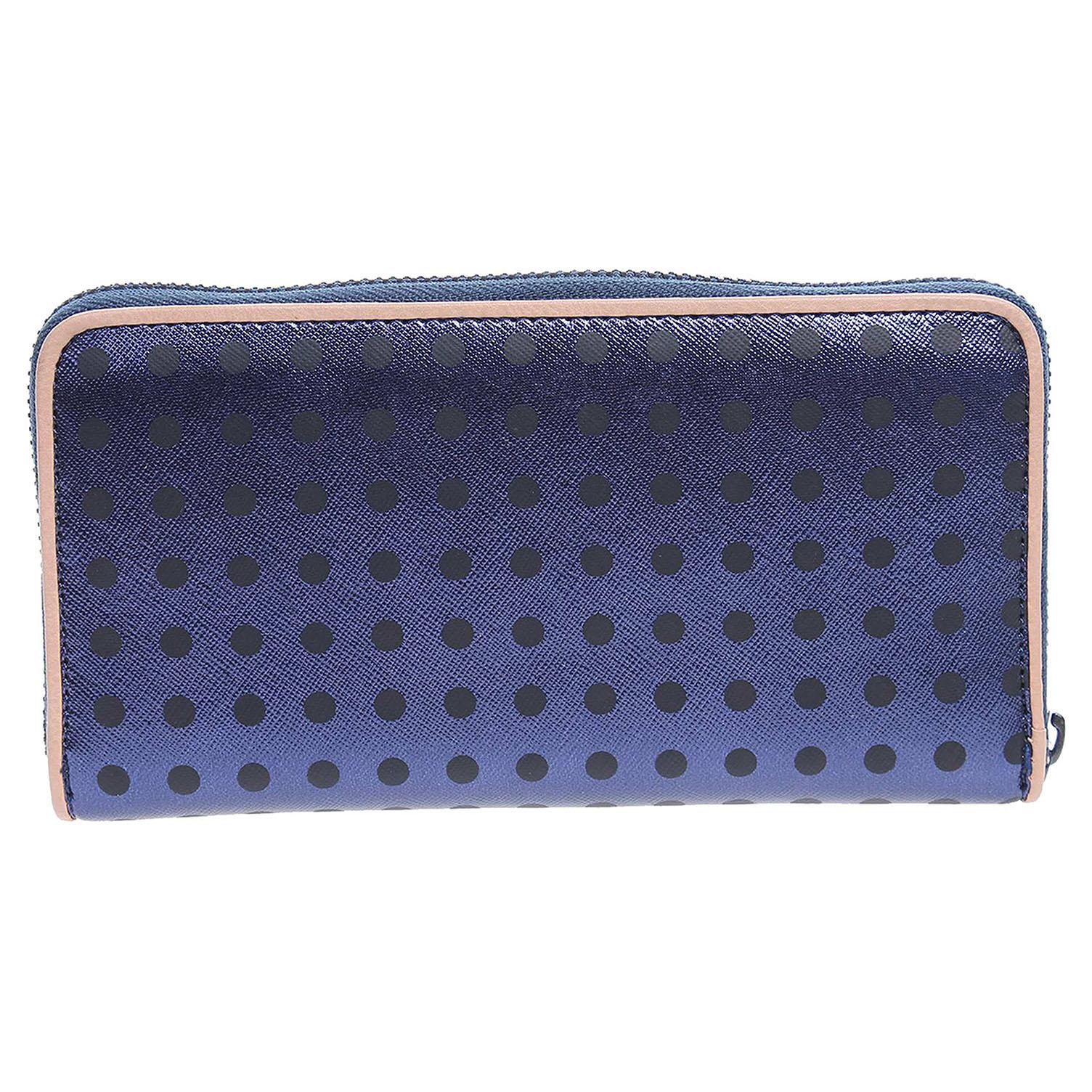 Hello Kitty 19229.6 azul dámská peněženka modrá 1