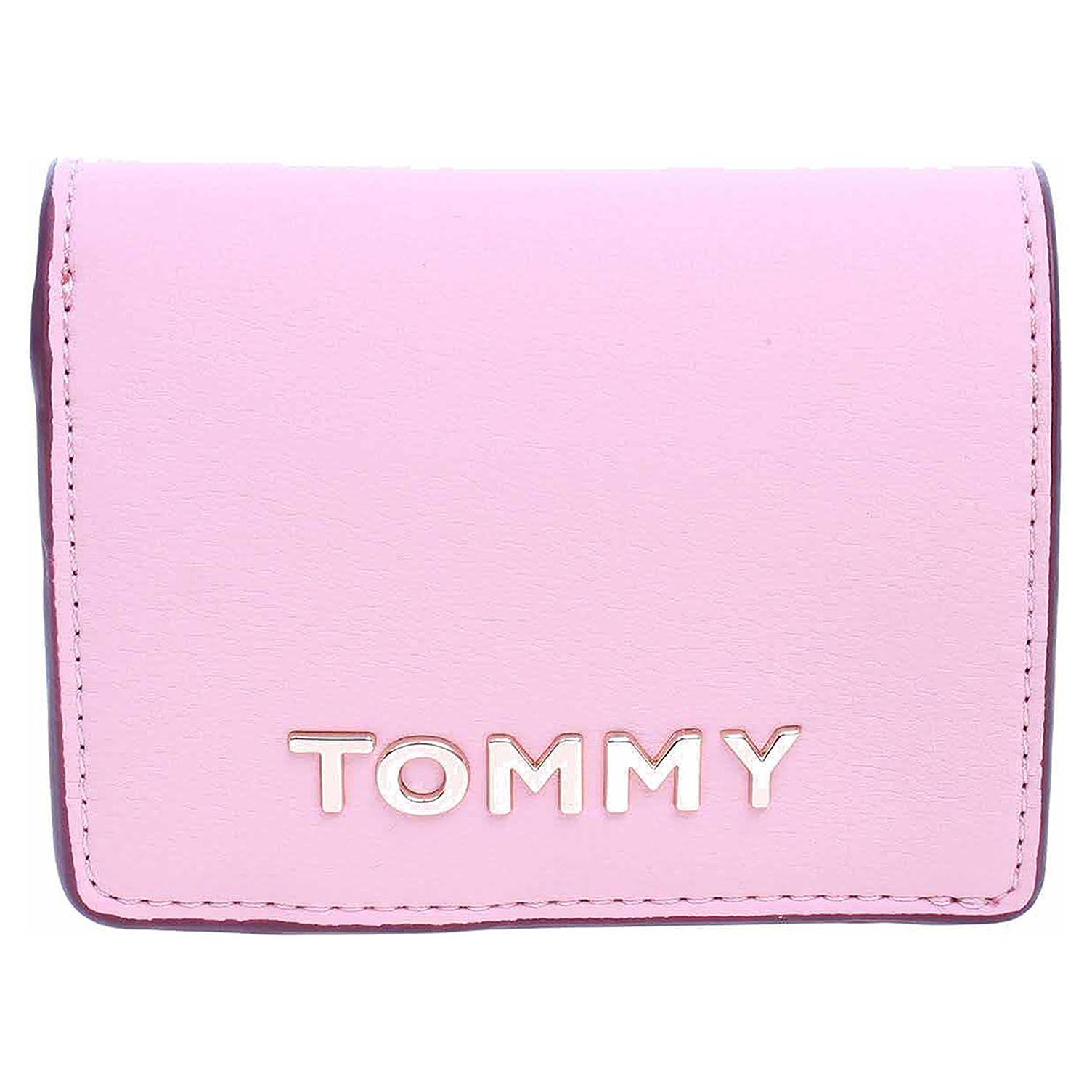 AW0AW07121 TBD bridal rose dámská peněženka, syntetika Tommy Hilfiger