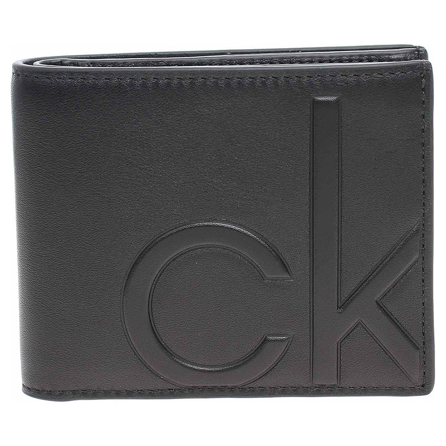 Ecco Calvin Klein pánská peněženka K50K506745 BAX Ck black 14200535