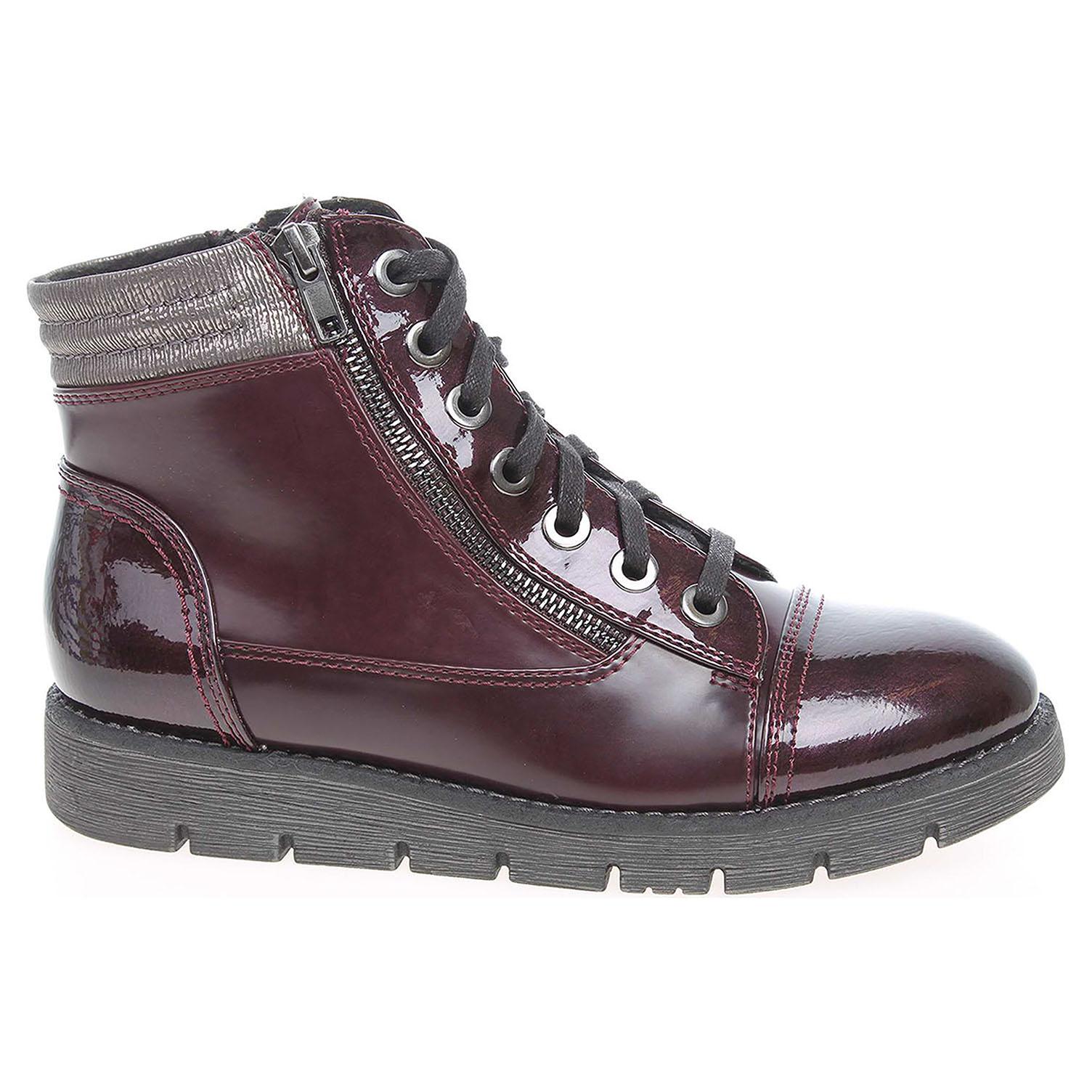 575c33b552 Ecco Dámská kotníková obuv Jana 8-25206-27 vínové 22400527