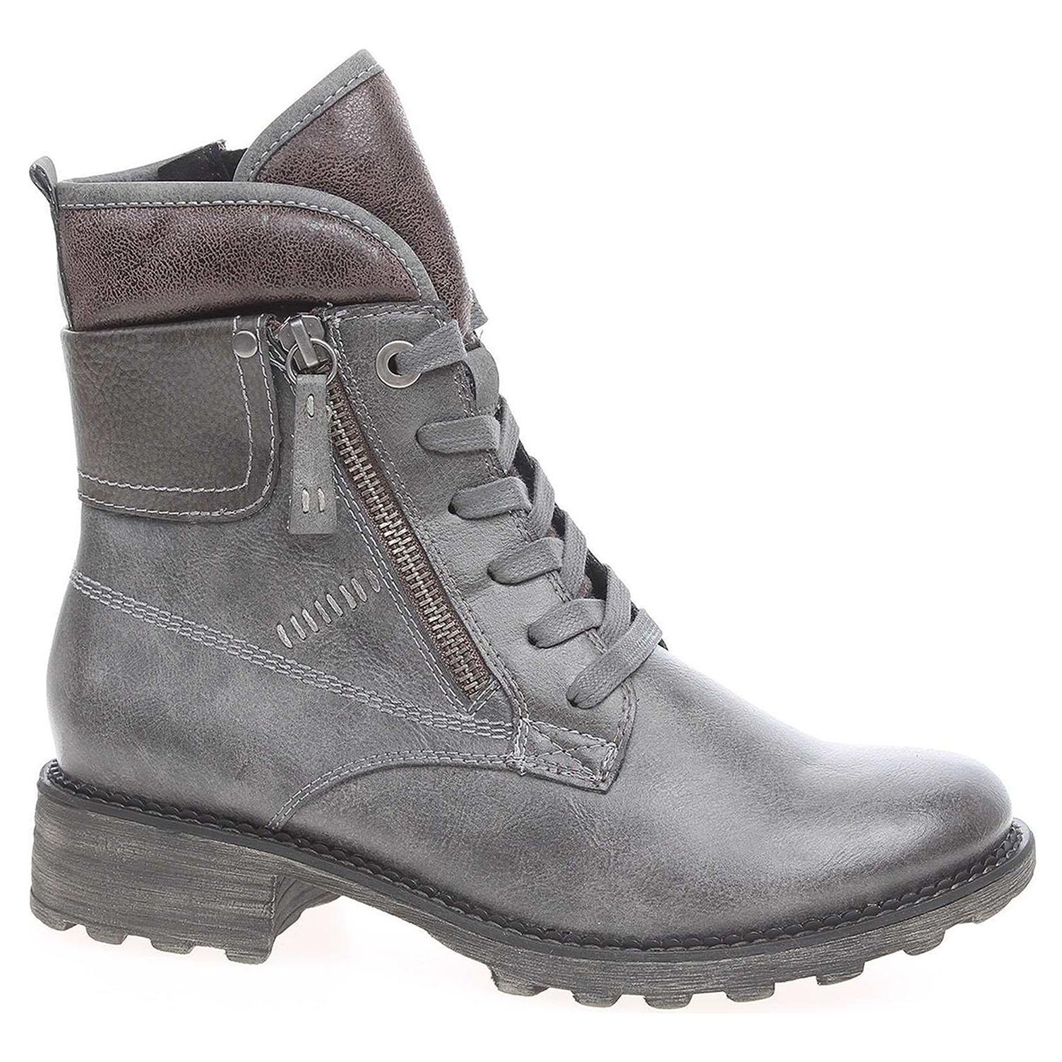 5995bff275ea Ecco Dámská kotníková obuv Tamaris 1-26248-29 šedé 22400564