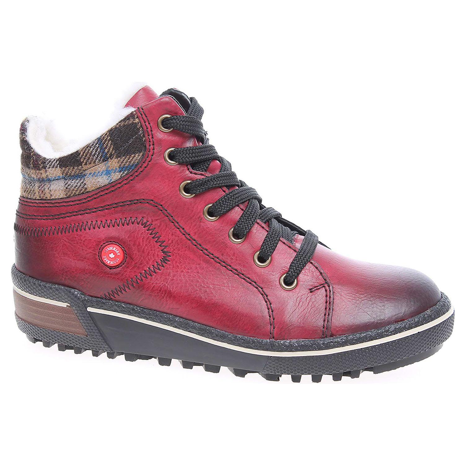 aeb5434e5f Ecco Dámská kotníková obuv Rieker Z6423-35 rot kombi 22400569