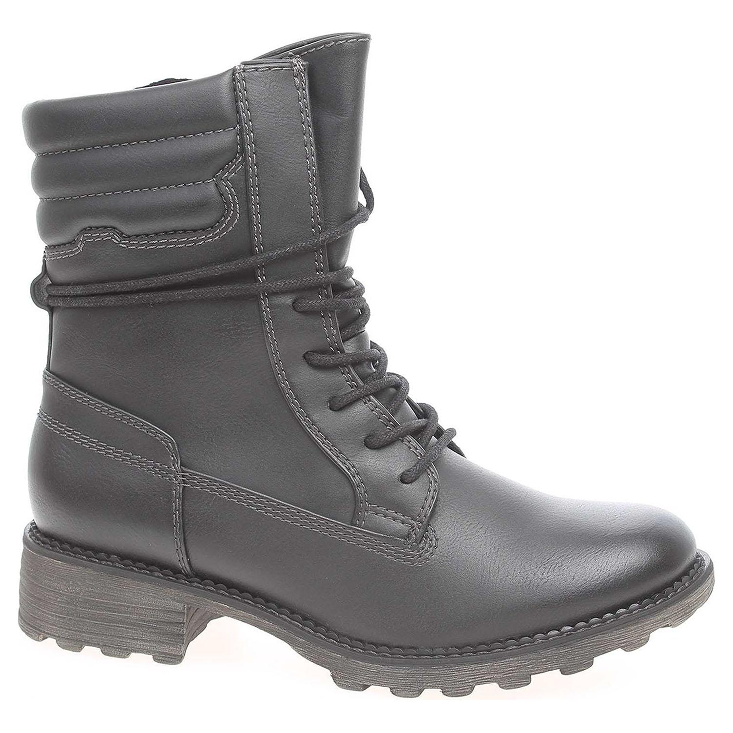6893e225621f Ecco Dámská kotníková obuv Tamaris 1-26206-29 černé 22400585