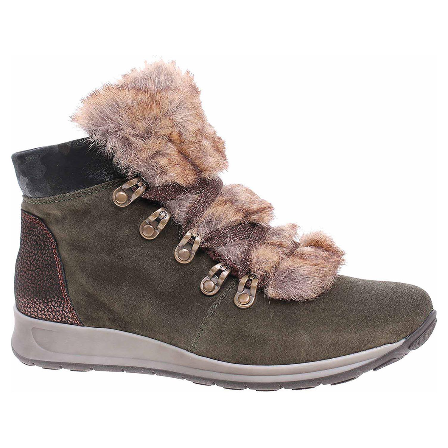 8c33fd7d3b4e Ecco Dámská kotníková obuv Ara 12-44515-78 forest-moro-copper 22400727
