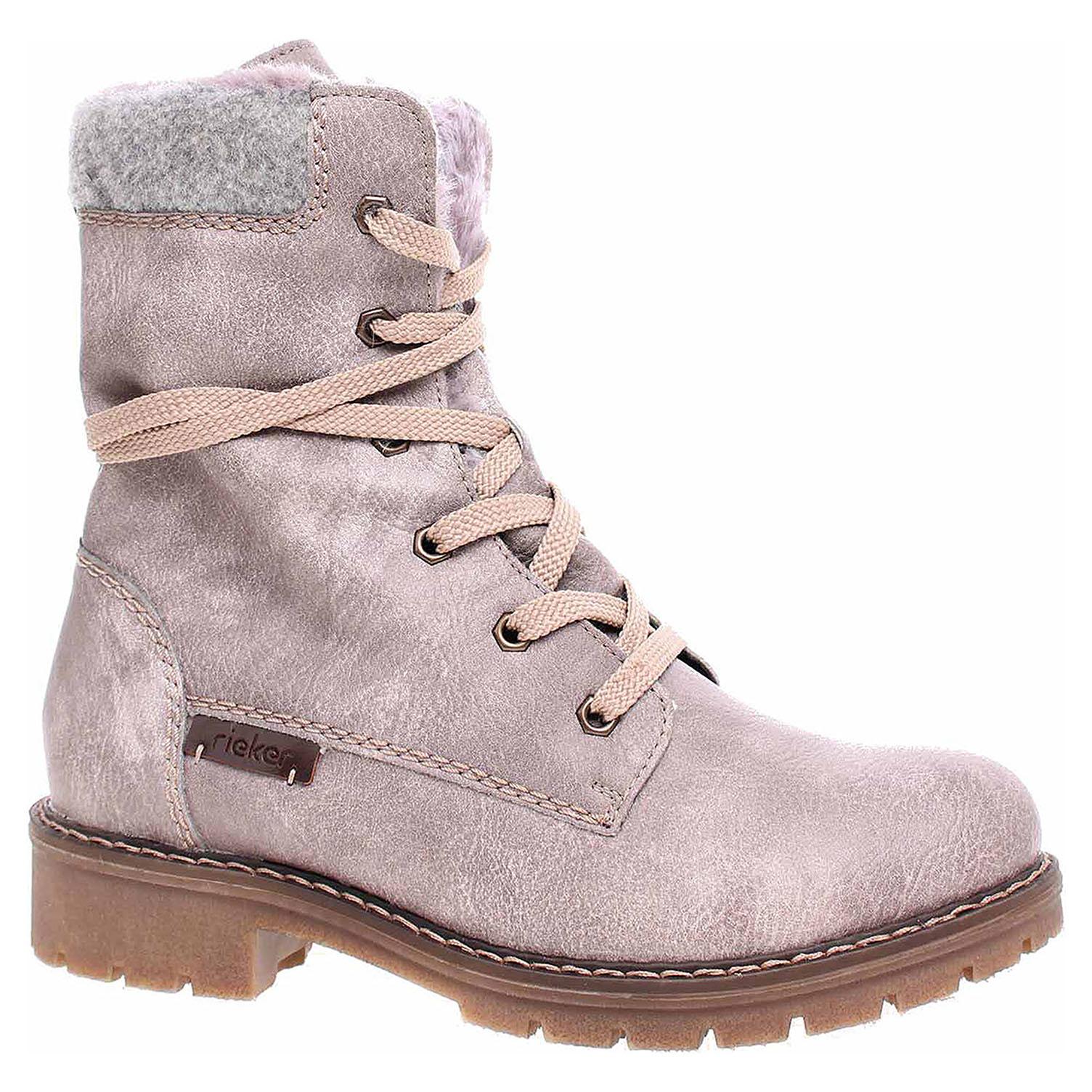 ececdcfbeb Ecco Dámská kotníková obuv Rieker Y9122-42 grau kombi 22400757