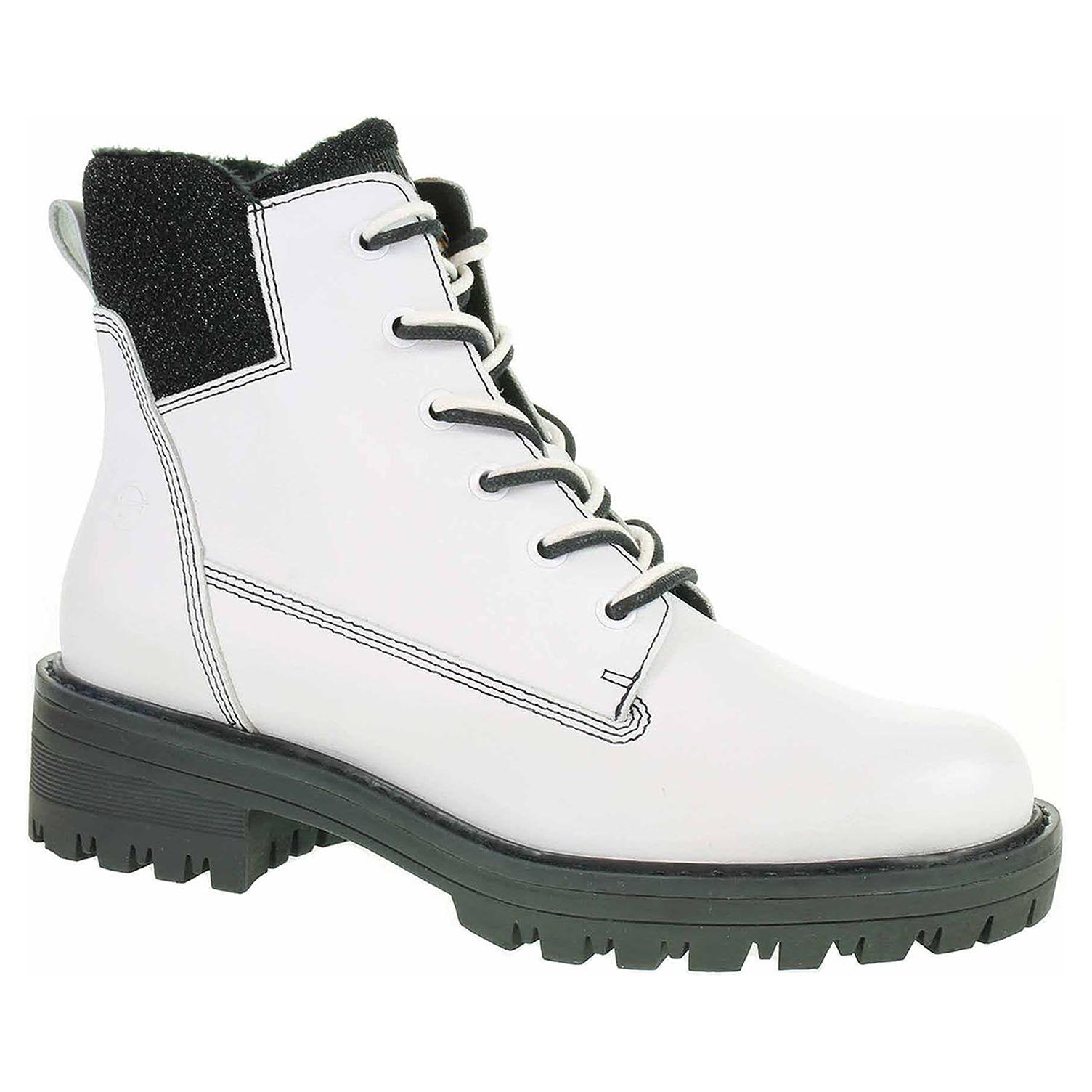 a8c376731b1b2 Ecco Dámská kotníková obuv Tamaris 1-25214-21 white-black 22400775