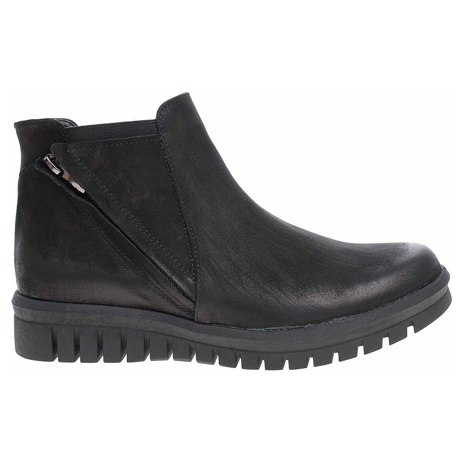 Ecco Dámská obuv J3880 černá nubuk 22600976 f1a8acafce9